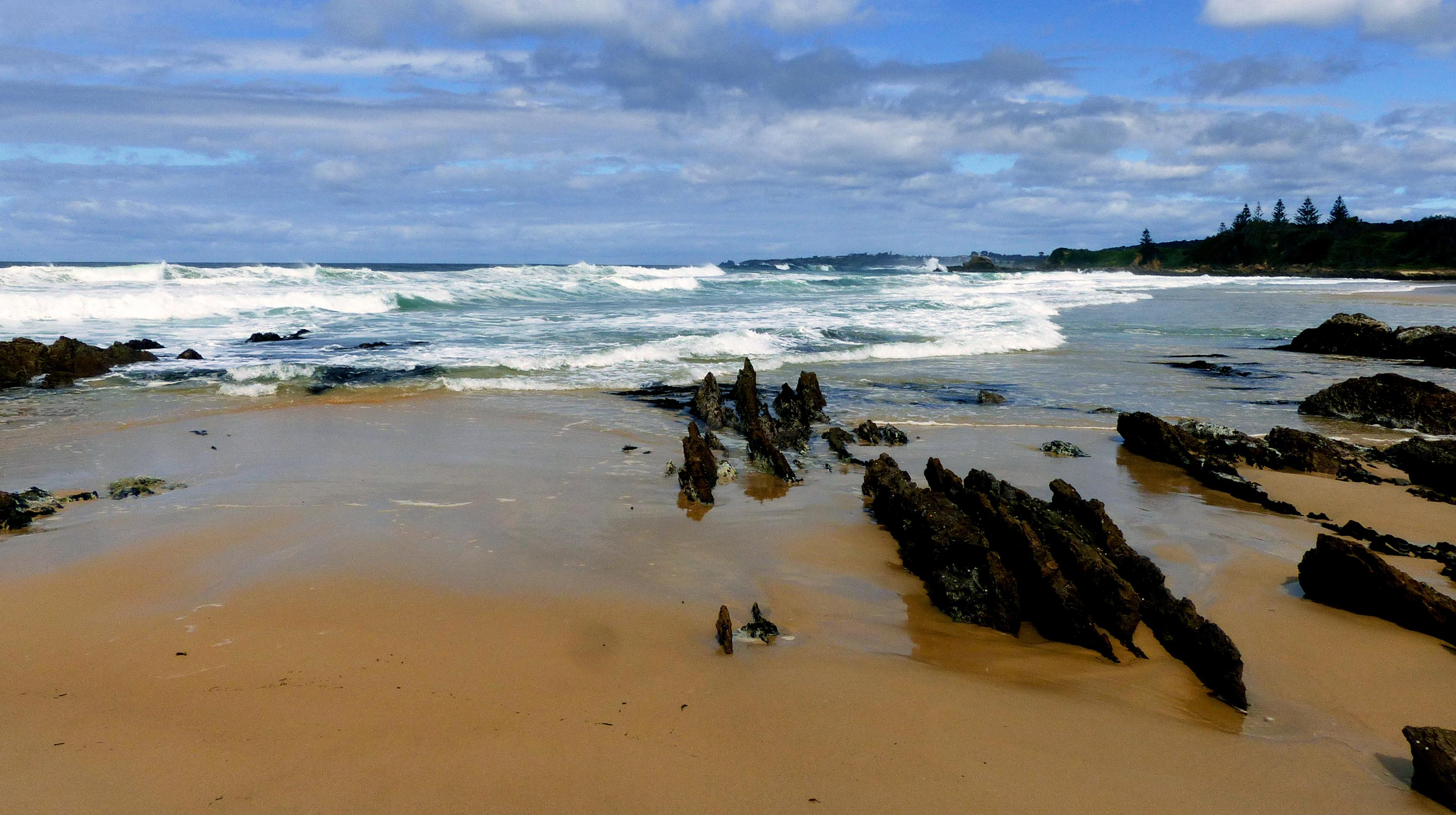 Yabbarra beach nsw.aust. photo