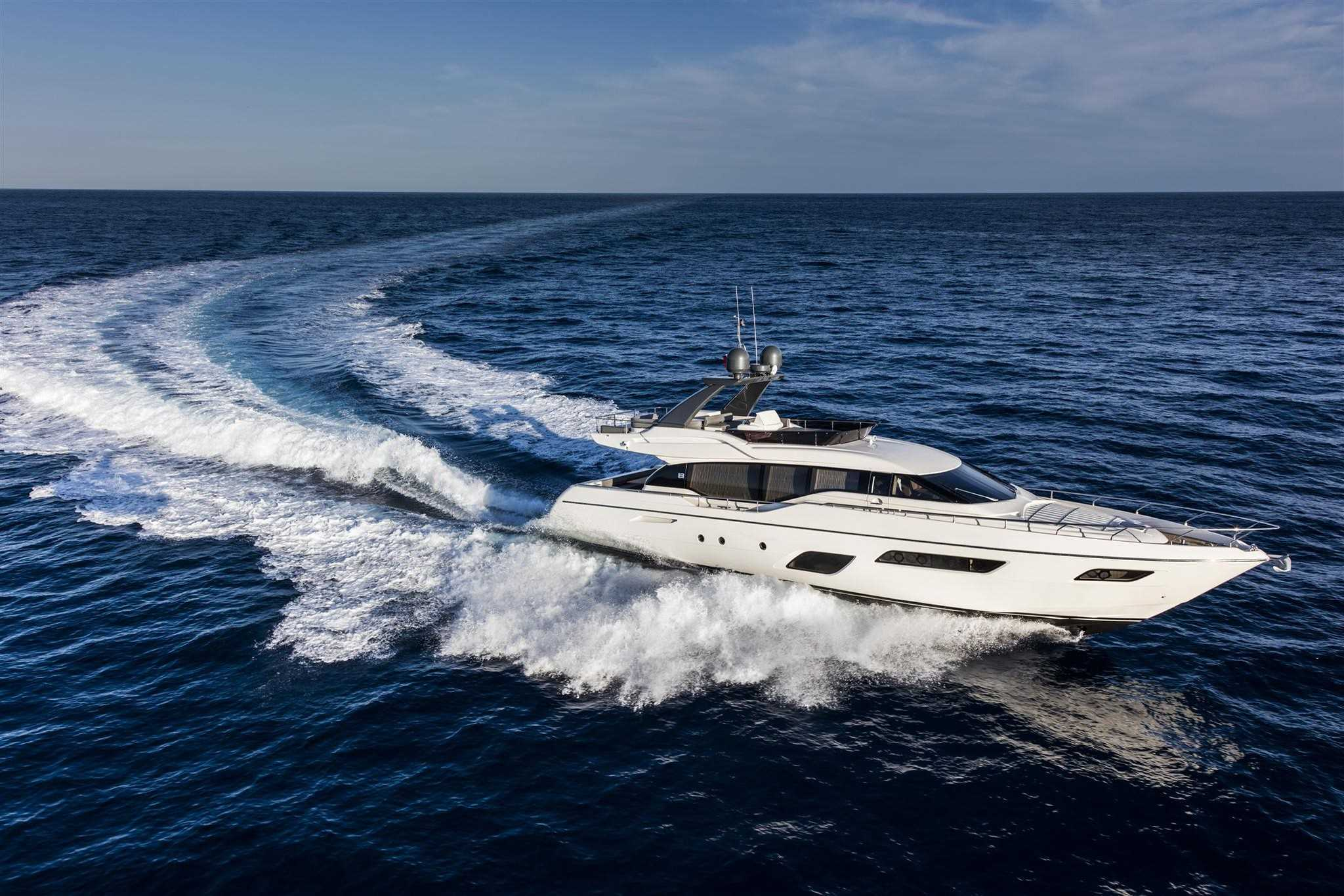 Internal Ferretti Yachts 700