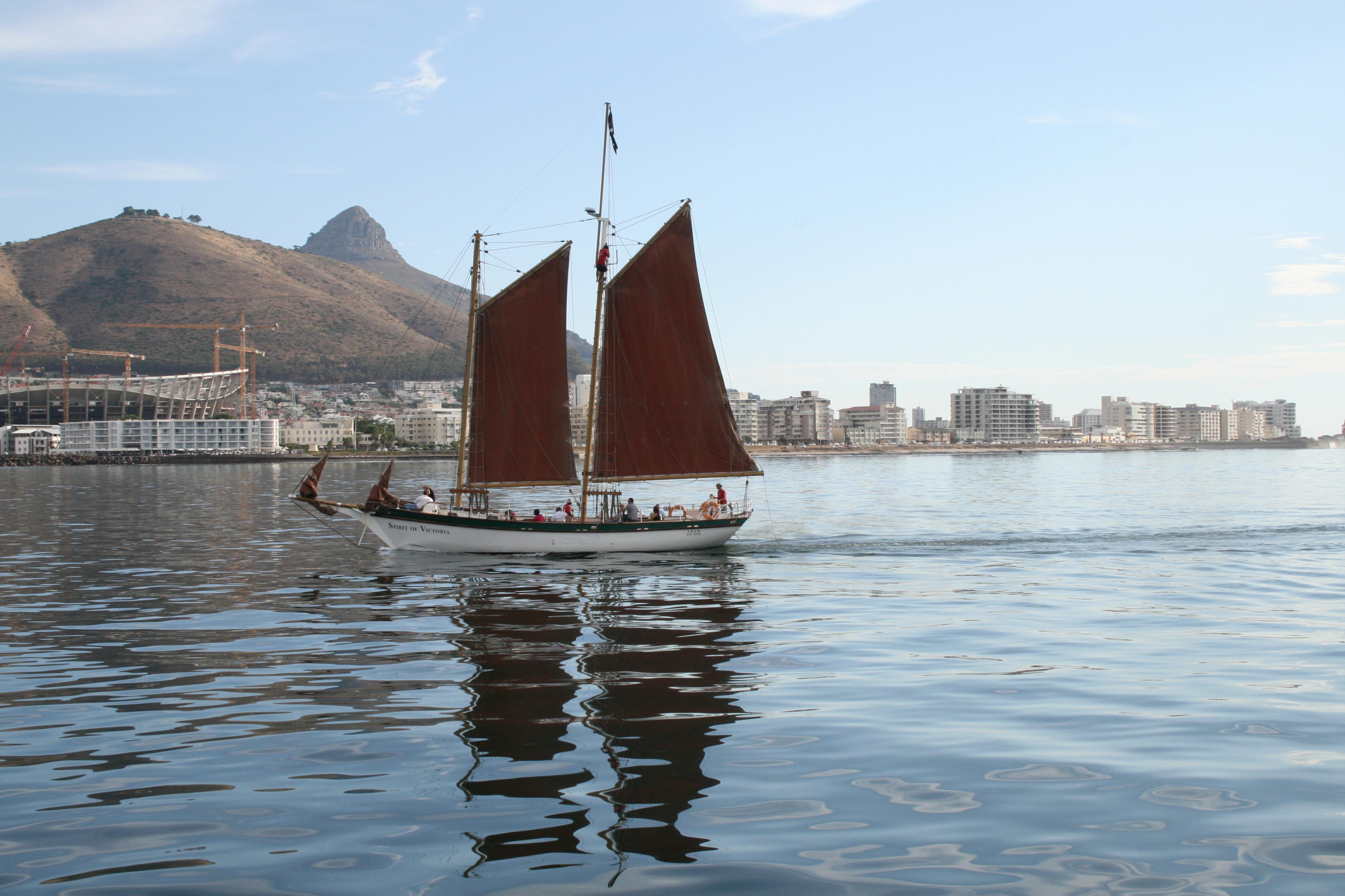 """Yacht """"spirit of victoria"""" in photo"""