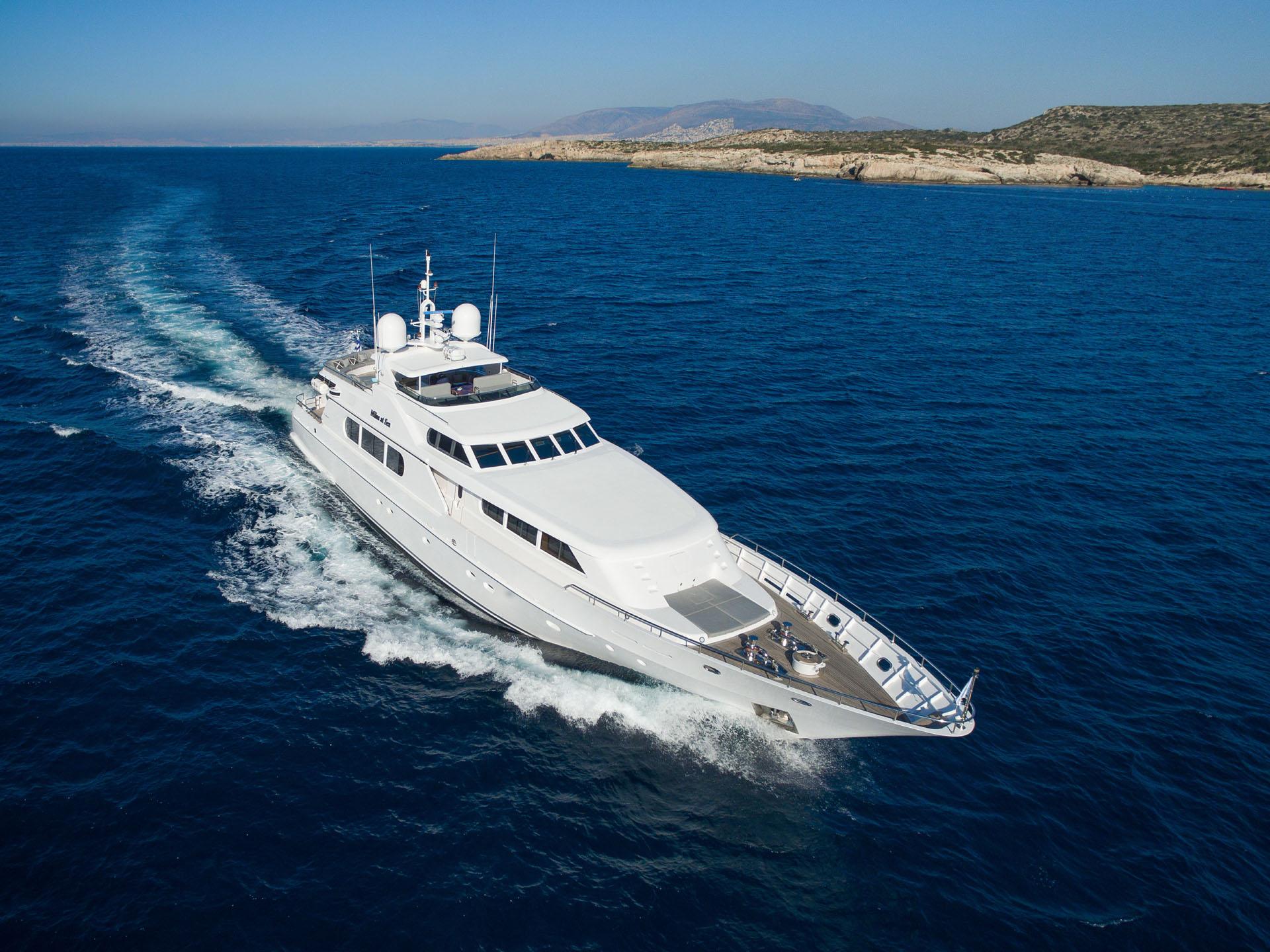 MILOS AT SEA Yacht Charter Details, Codecasa   CHARTERWORLD Luxury ...