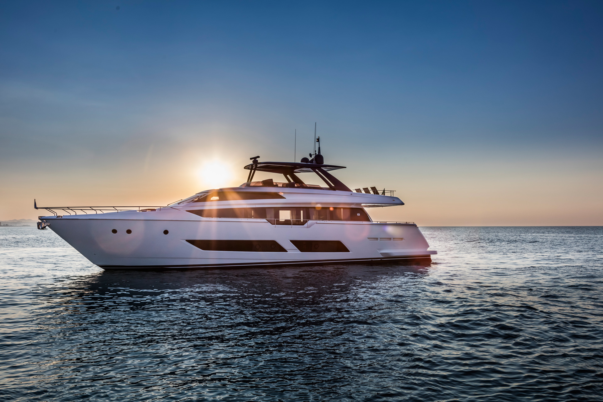 Ferretti Yachts Luxury Flybridge Yachts For Sale