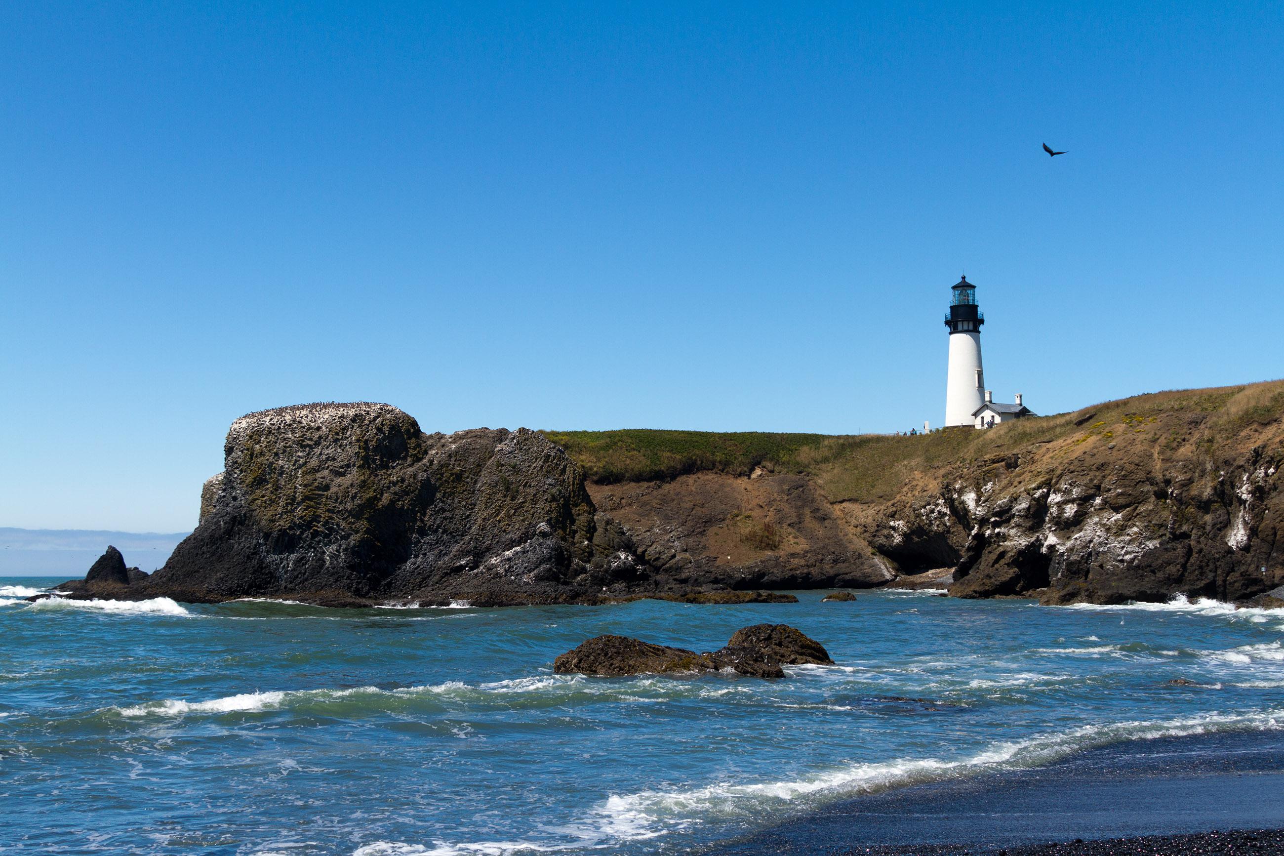 Yaquina head lighthouse, oregon photo