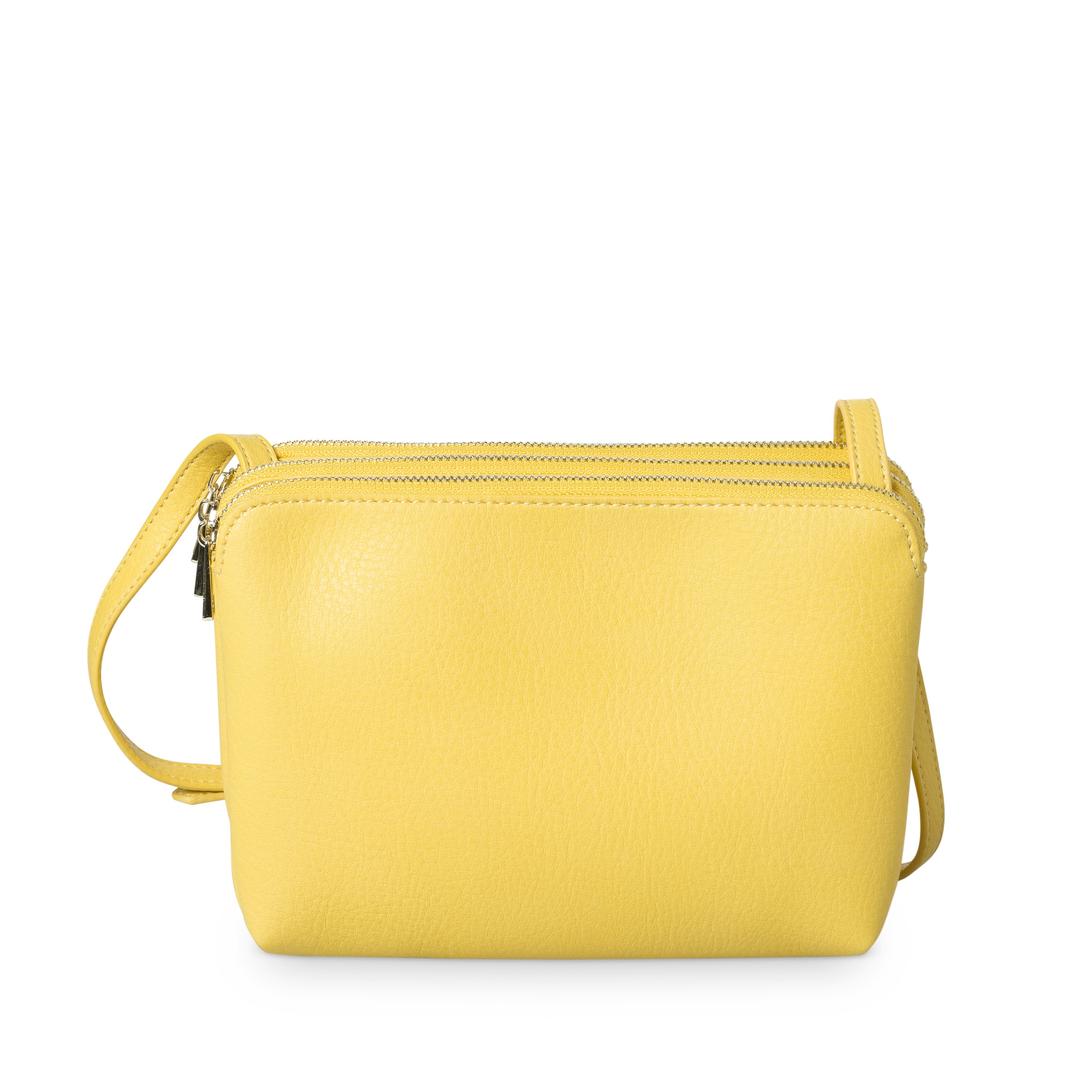 Yellow Kennedy Three Pocket Cross Body Bag | Oliver Bonas