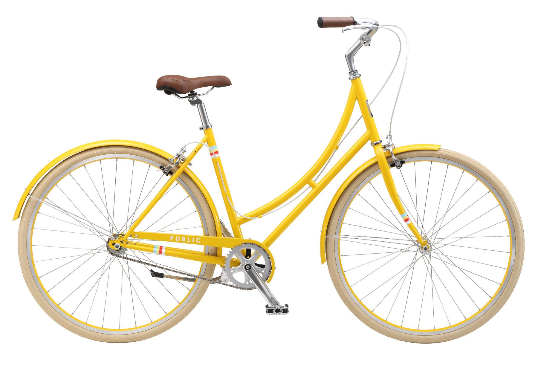 Yellow bike photo