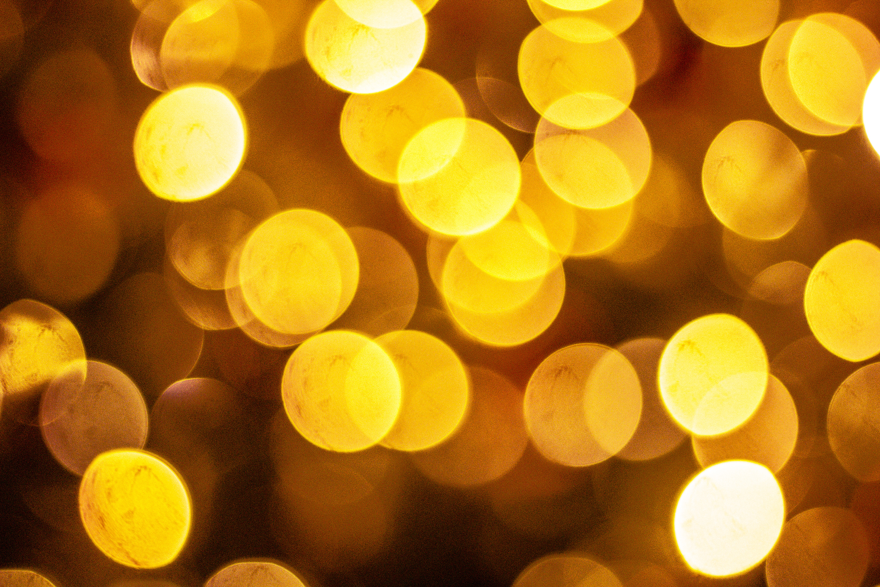 Free Photo Yellow Bokeh Background Blur Light