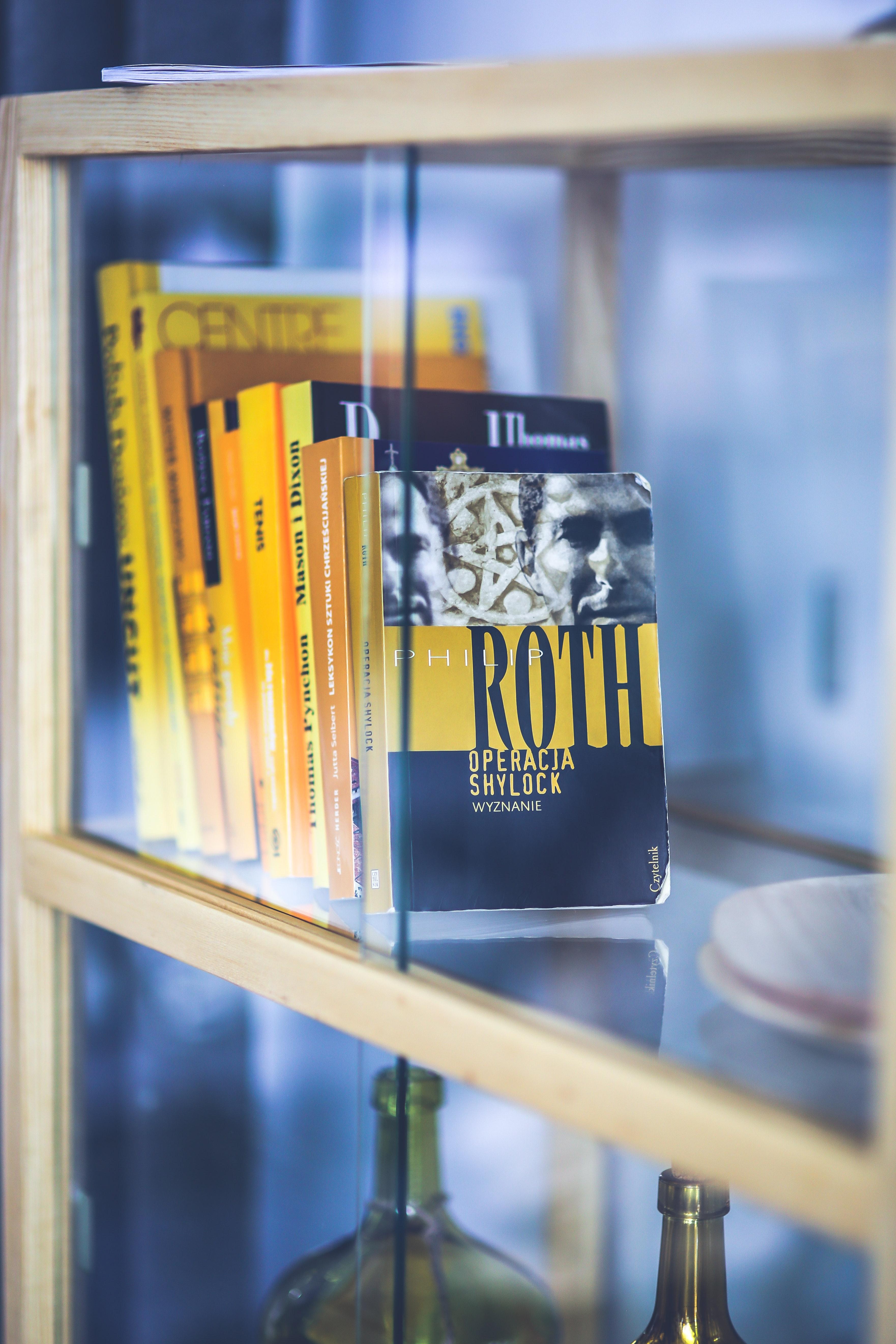 Yellow books photo