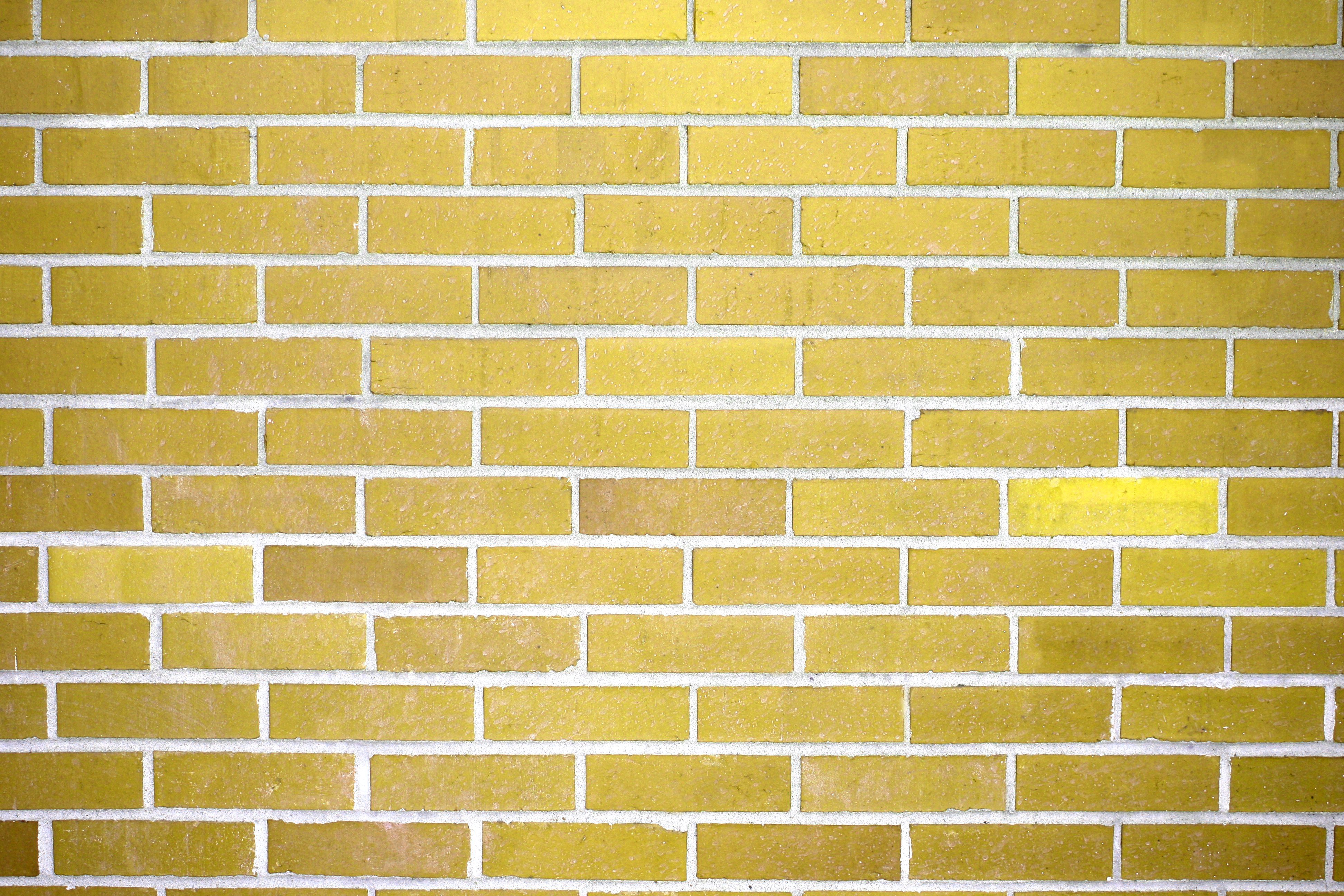 Yellow Brick Wall Texture Picture | Free Photograph | Photos Public ...