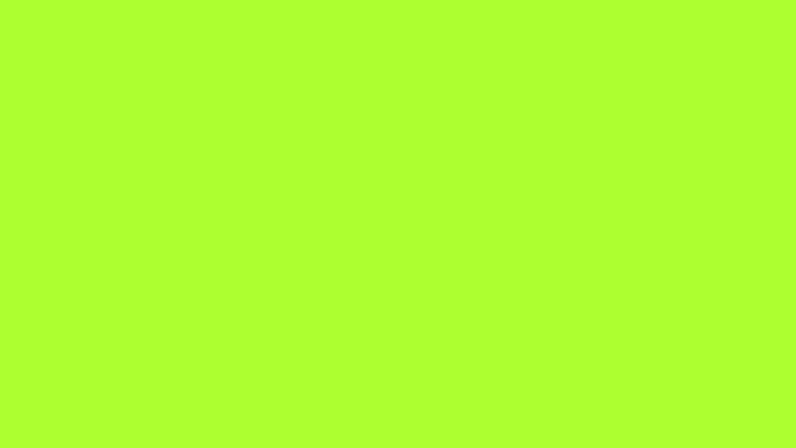 2560x1440 Green-yellow Solid Color Background
