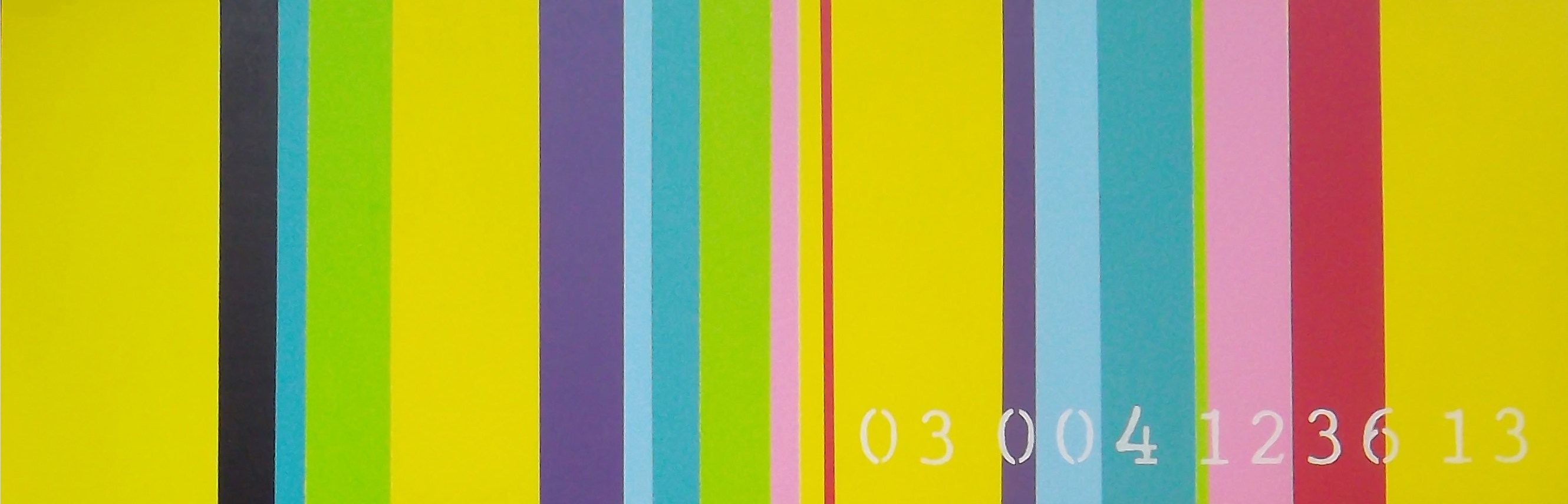 commodity of colour 03 004 1236 13 / 12″ x 36″ – collected works of ...