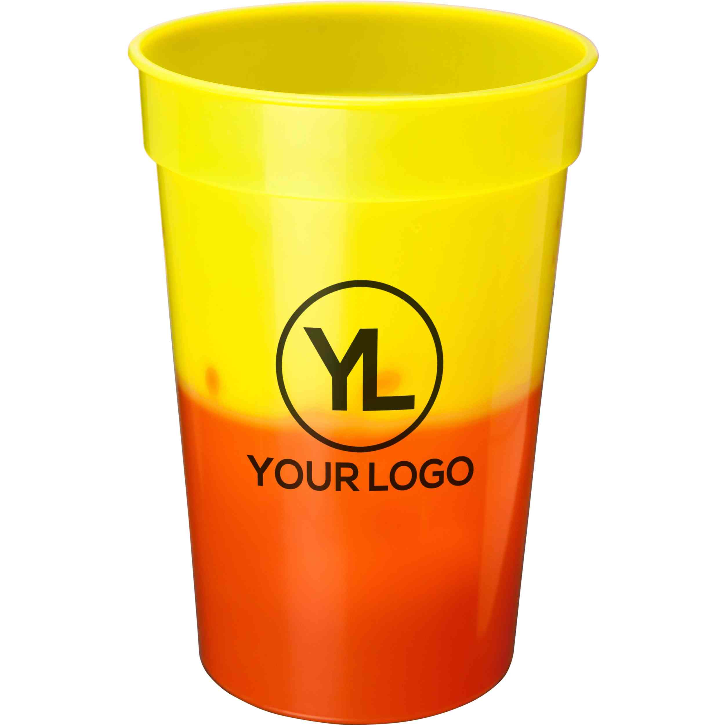 Promotional 17 Oz. Mood Stadium Cups with Custom Logo for $0.45 Ea.