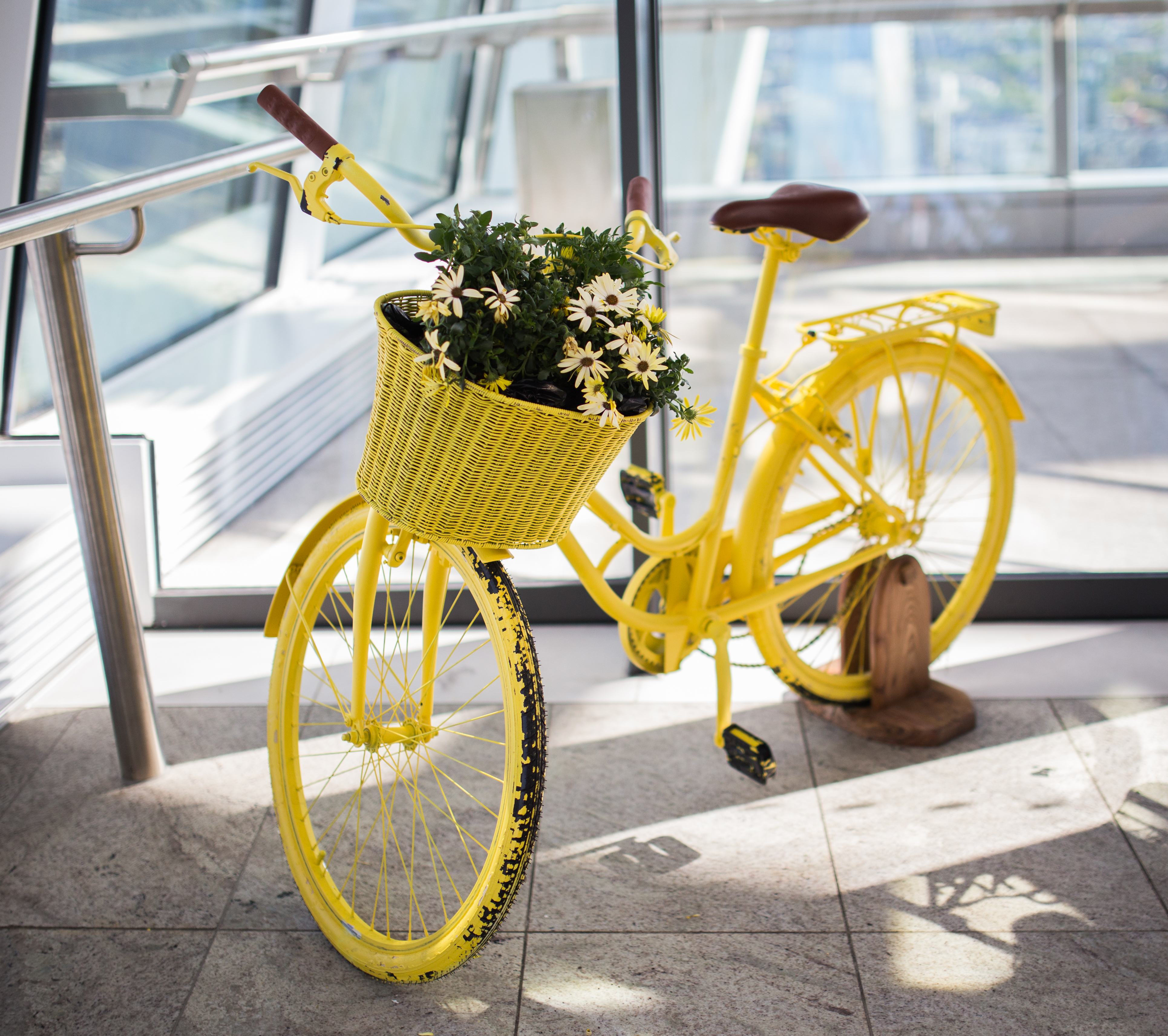 Yellow Cycle, Bicycle, Bike, Cycle, Decoration, HQ Photo