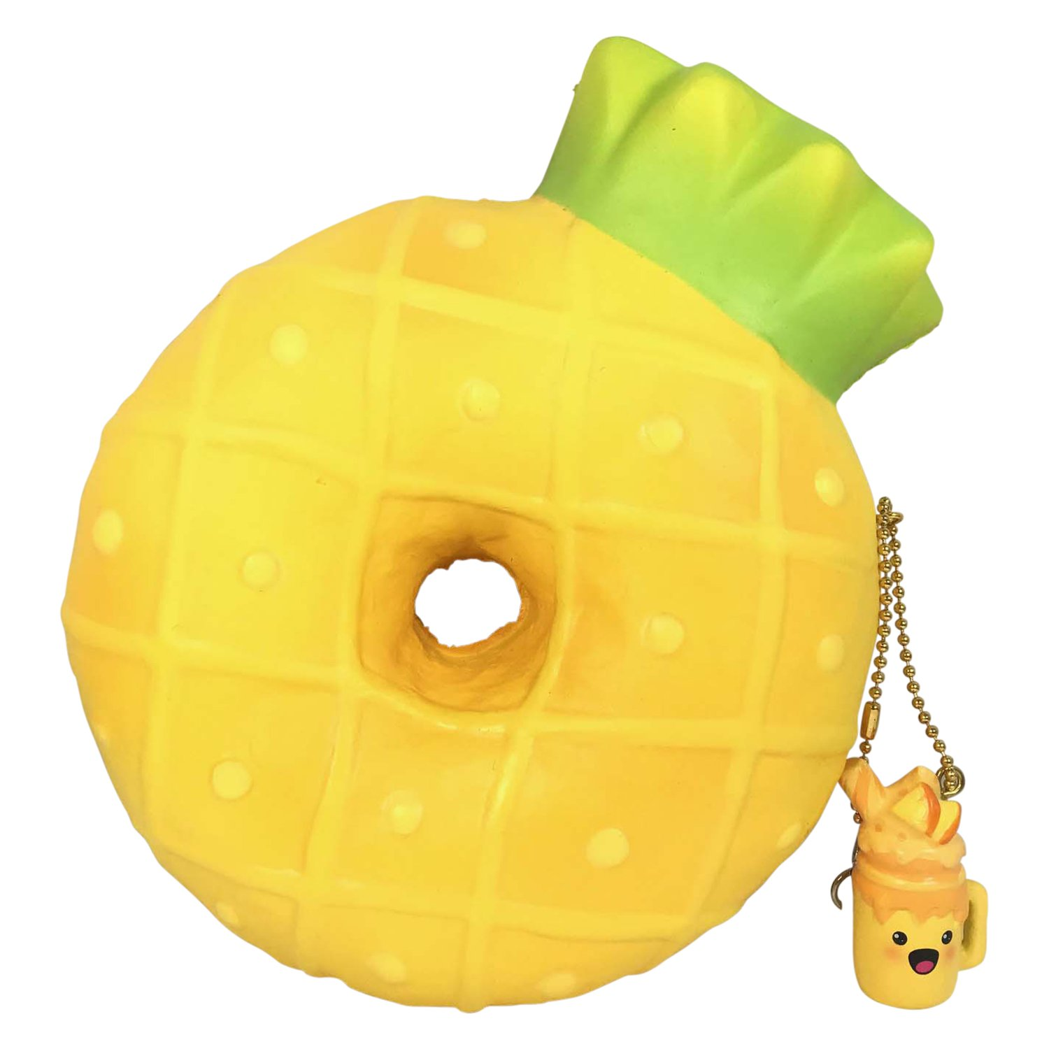 Slow Rise SCENTED Pineapple Donut! | Jenna Lyn Squishies and Accessories