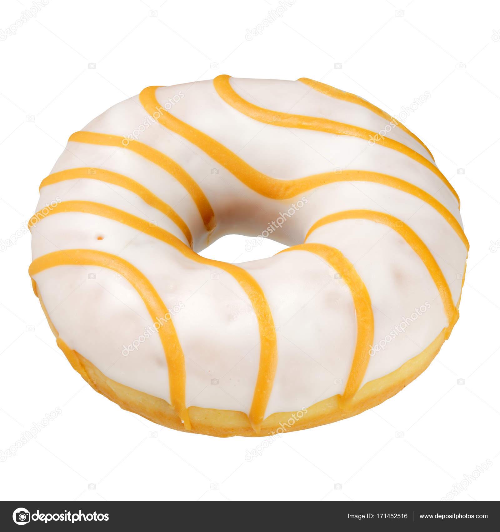 Yellow donut isolated — Stock Photo © Ha4ipiri #171452516