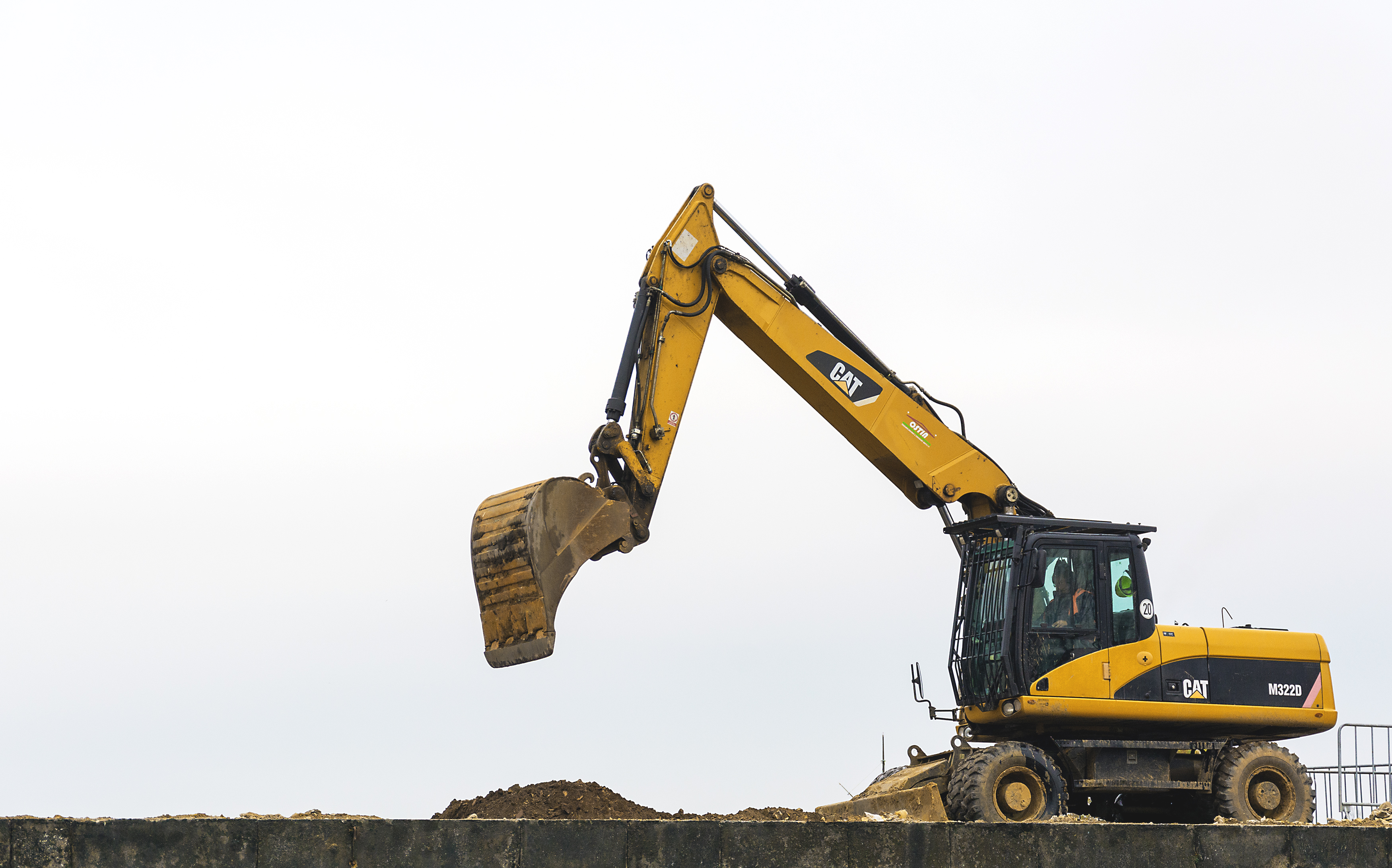 Free Image: Yellow Excavator | Libreshot Public Domain Photos