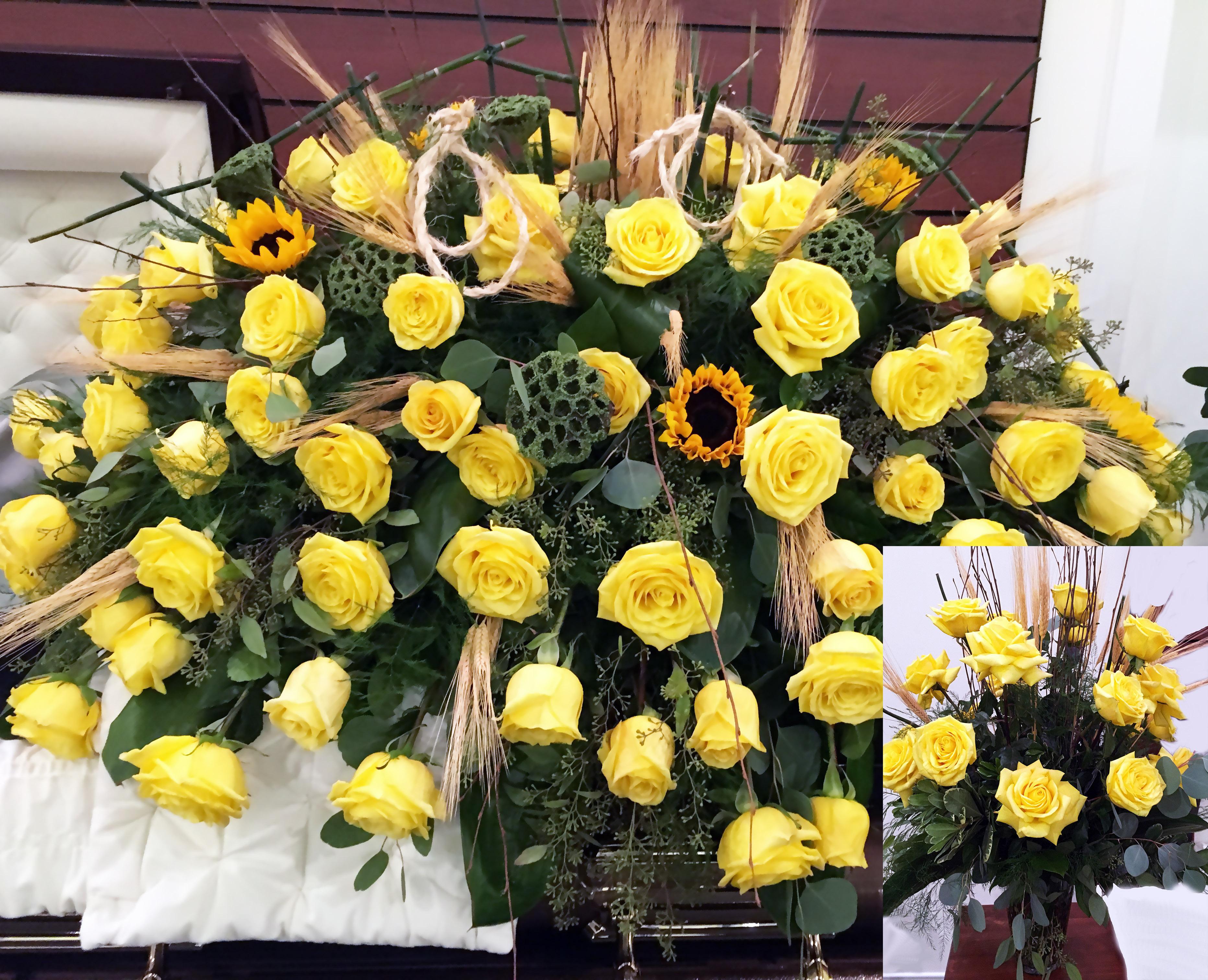 Yellow Flowers | Carnes Flowers