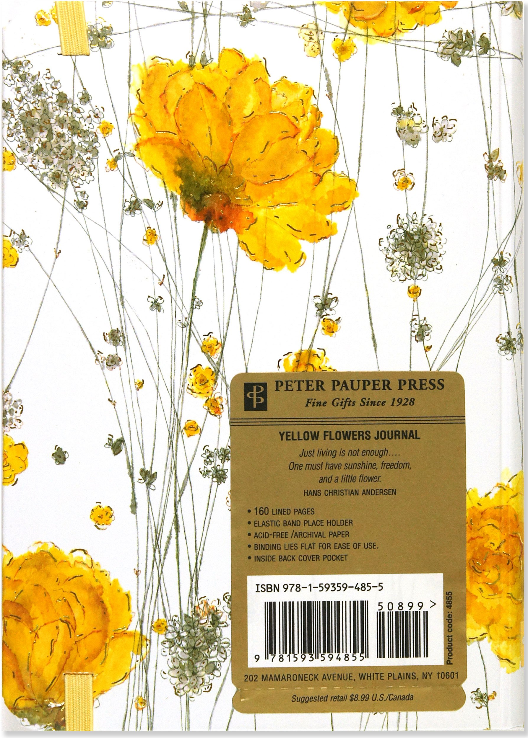 Yellow Flowers Journal (Notebook, Diary) (Small Format Journals ...