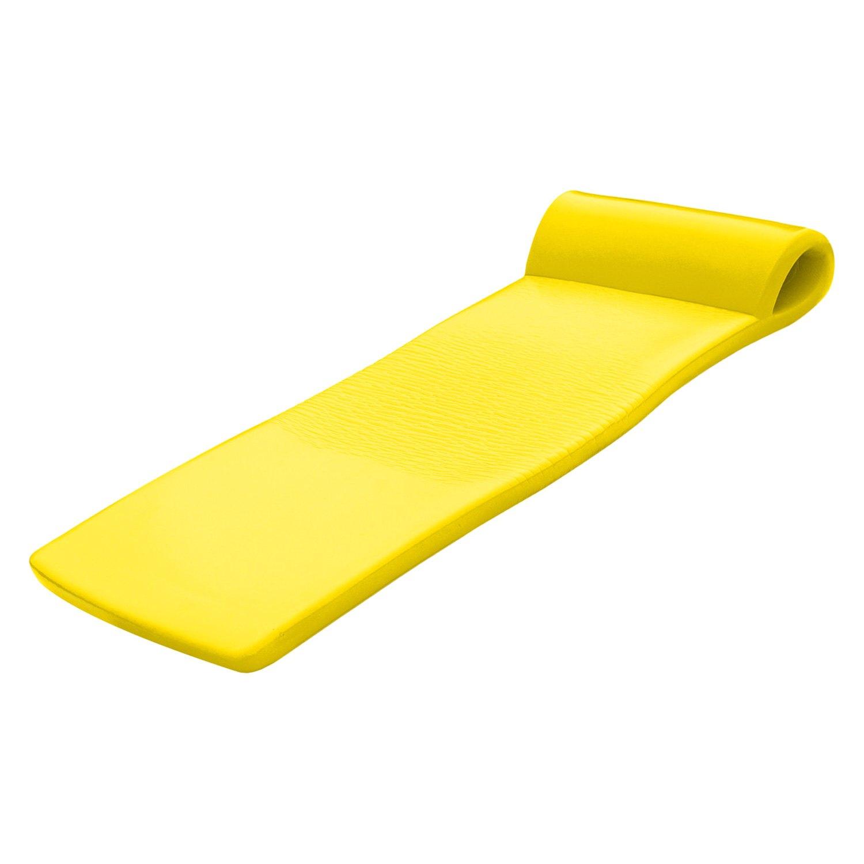 Yellow foam floats photo