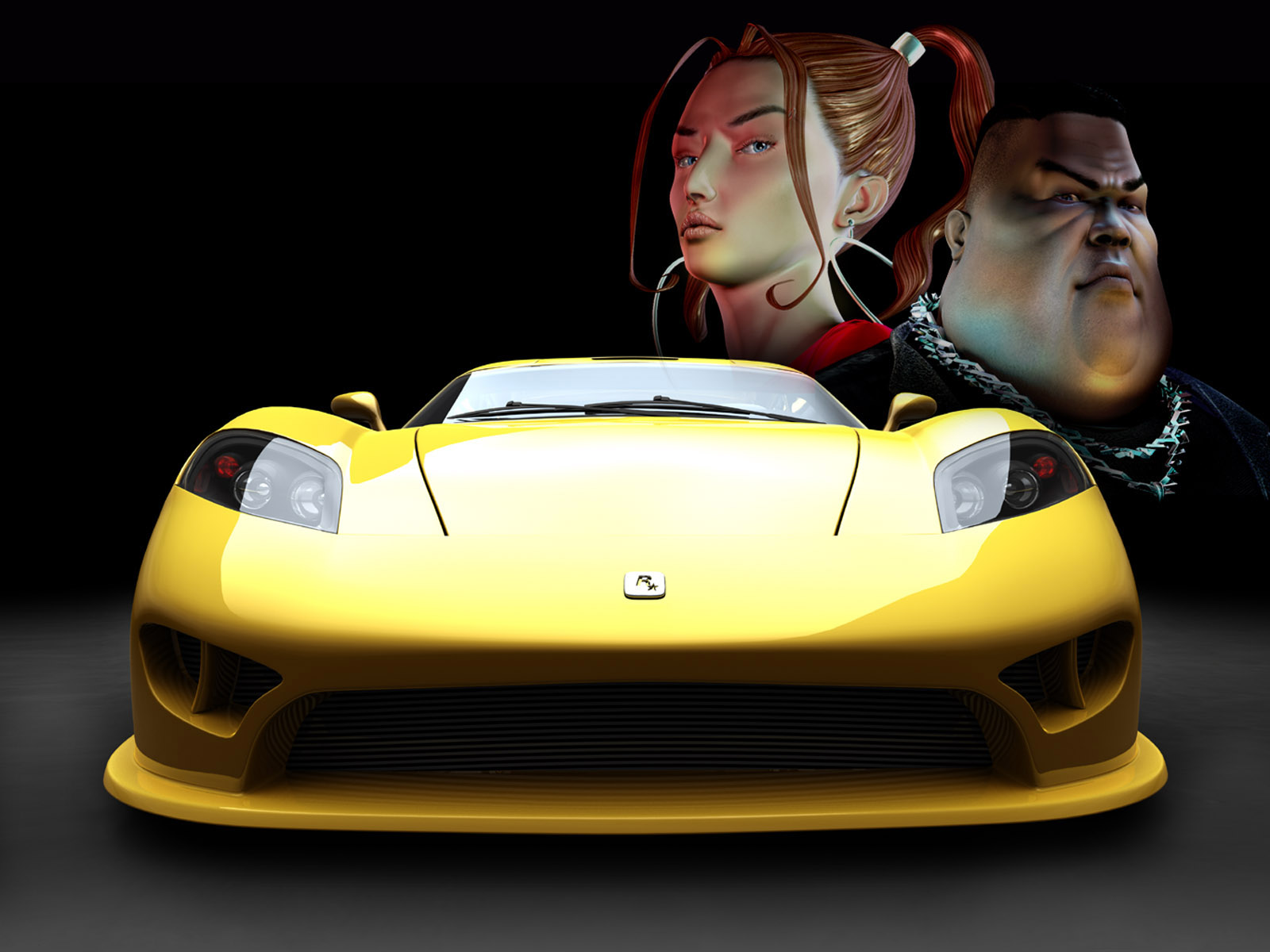 Yellow sports car wallpapers | Yellow sports car stock photos