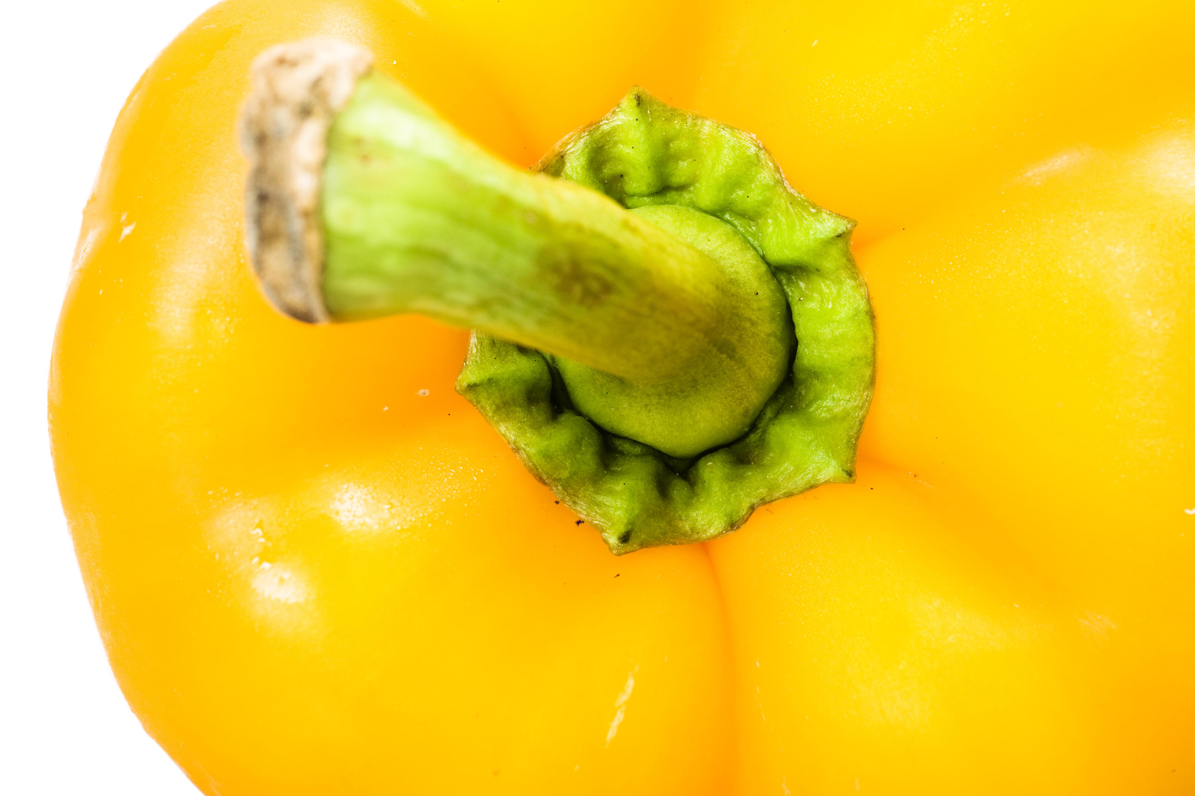 Yellow pepper photo