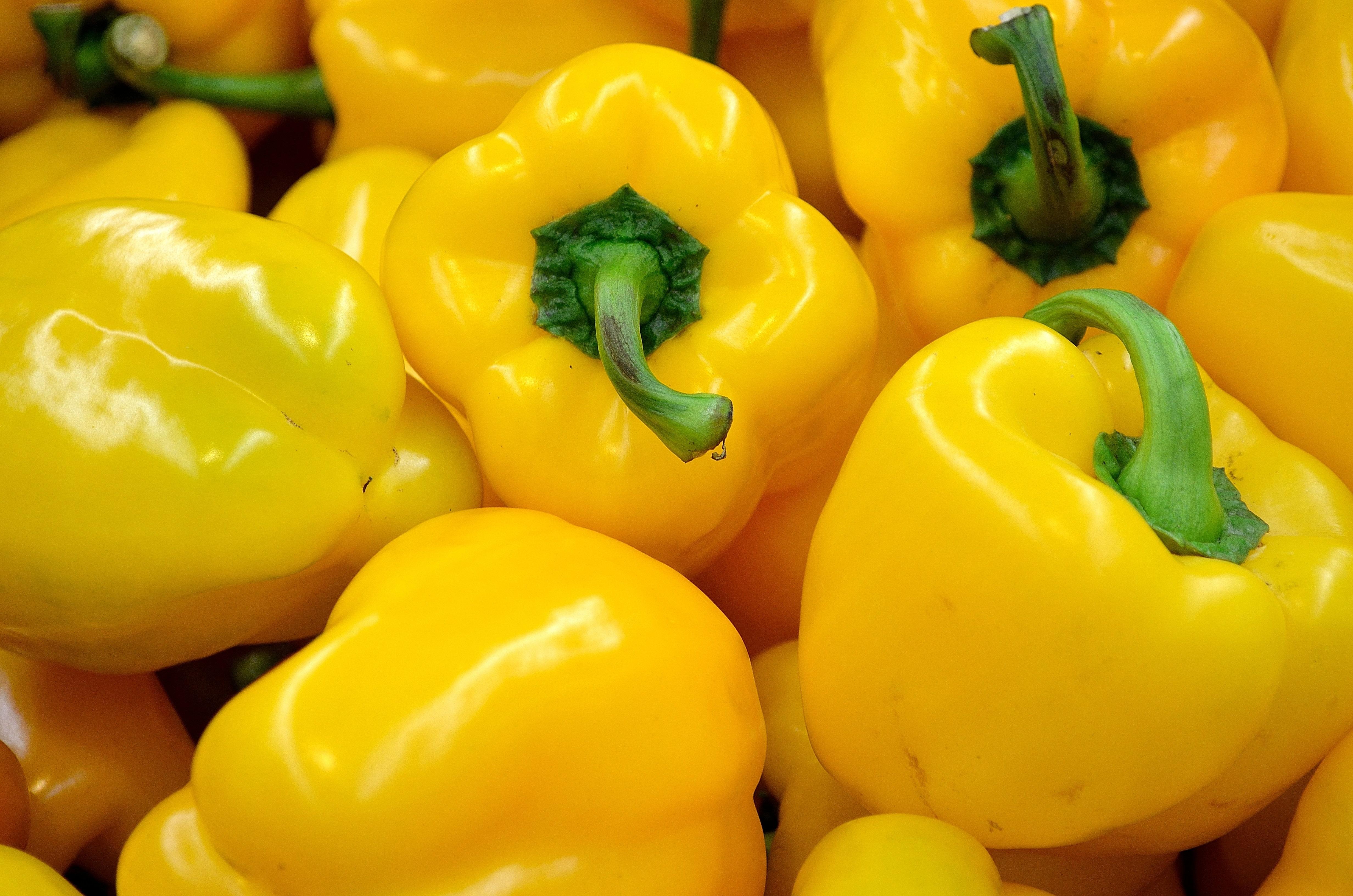 Yellow Pepper, Veg, Vegetable, Yellow, Spice, HQ Photo