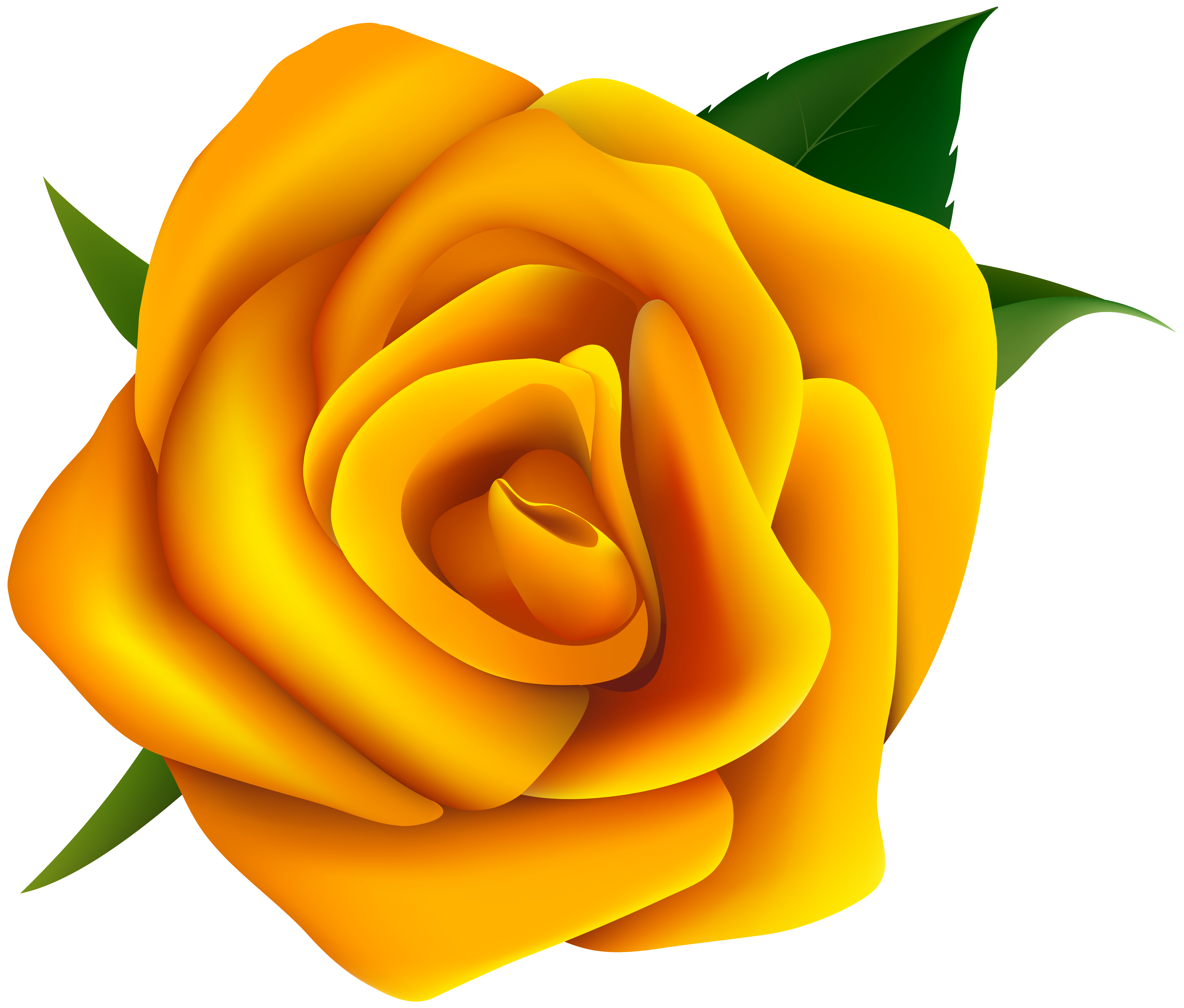 Yellow Rose Clipart PNG Image | Gallery Yopriceville - High-Quality ...