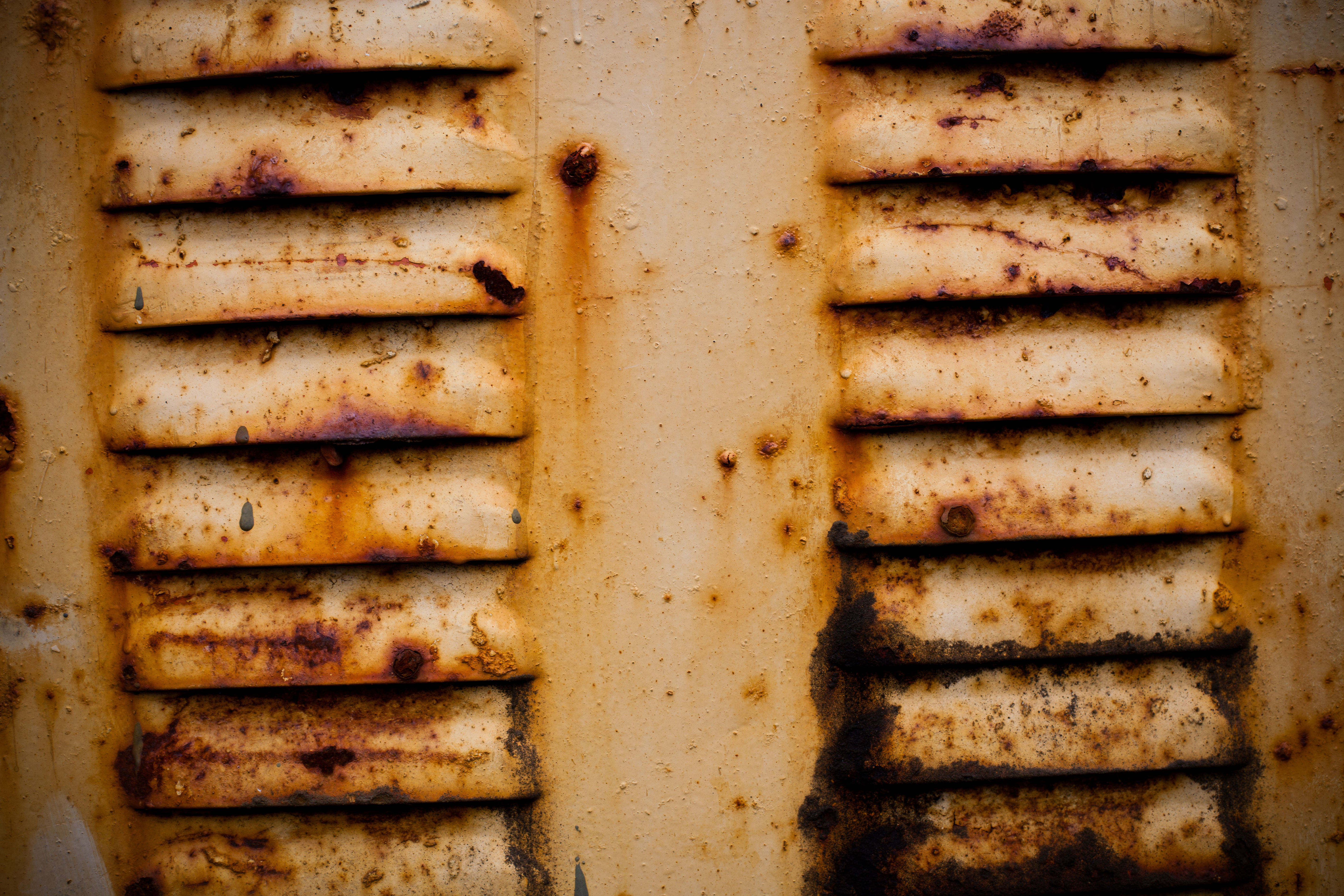 Yellow Rusted Metal Texture, Rusty, Rust, Surface, Texture, HQ Photo