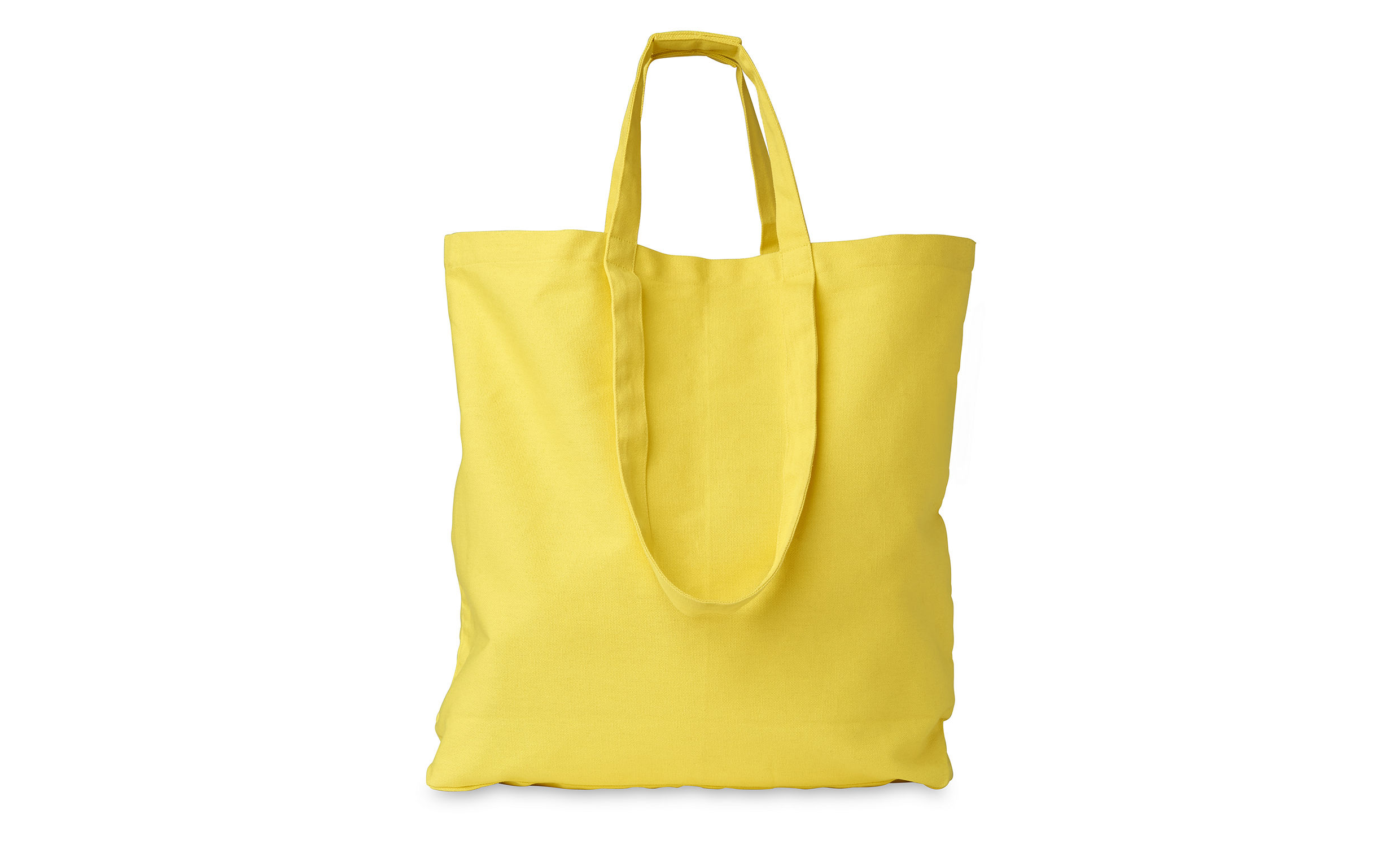 Vacation Canvas Bag, Yellow | WHISTLES
