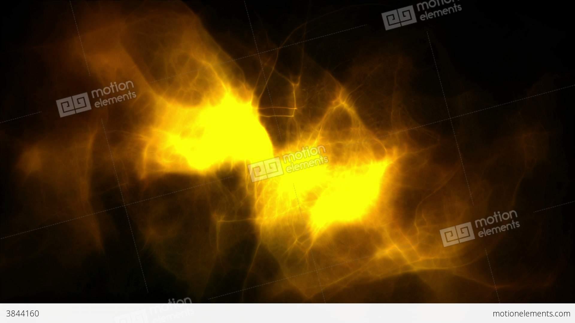 Animated Yellow Smoke Stock Animation | 3844160