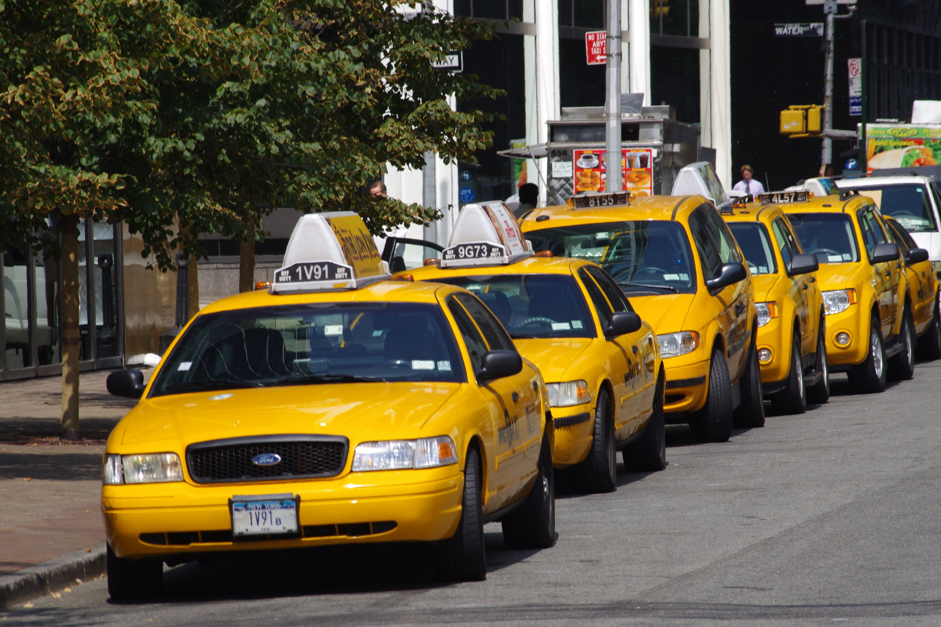 New York's iconic yellow cabs are slowly disappearing from city ...