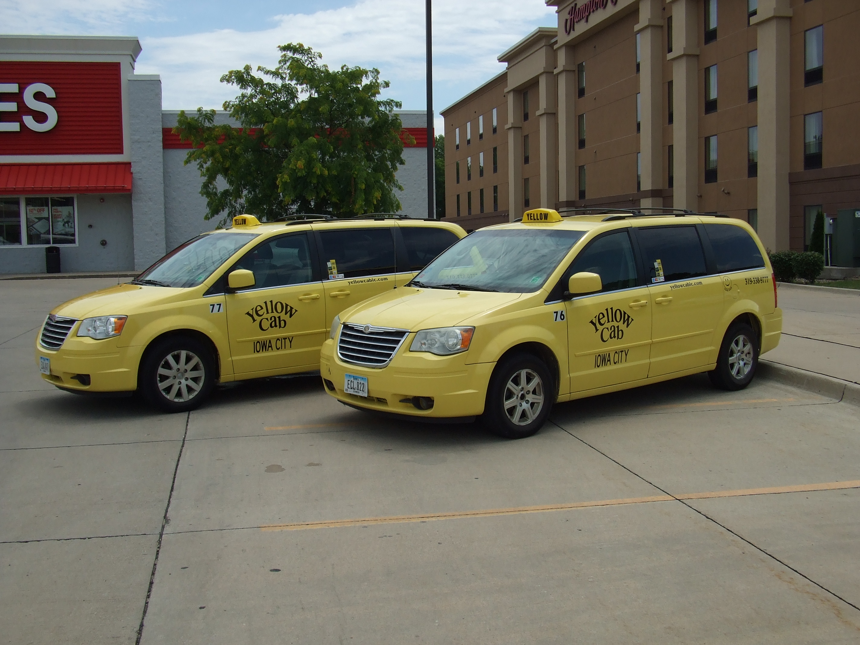 Iowa City Cab | Yellow Cab of Iowa City