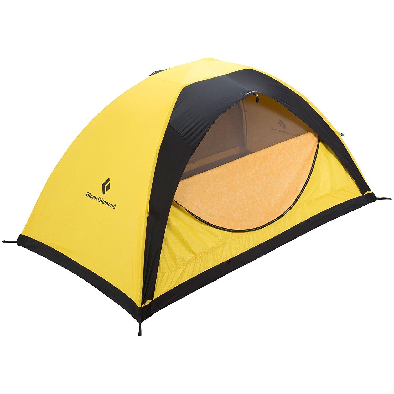 Amazon.com : Black Diamond Ahwahnee Tent Yellow FR 2 Person : Sports ...