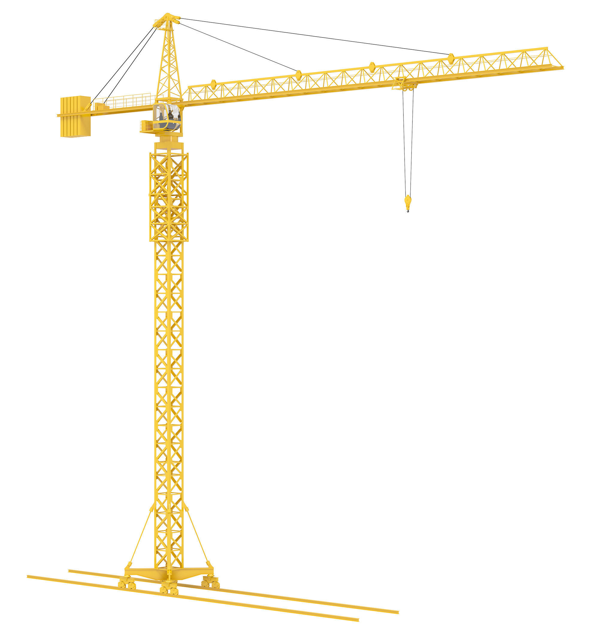 single word request - What is a tower crane in German - German ...