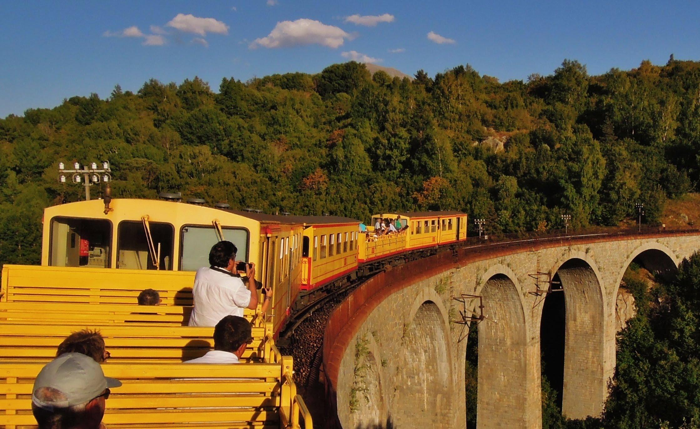 The Little Yellow Train, Part.2 Le Petit Train Jaune Villefranche ...