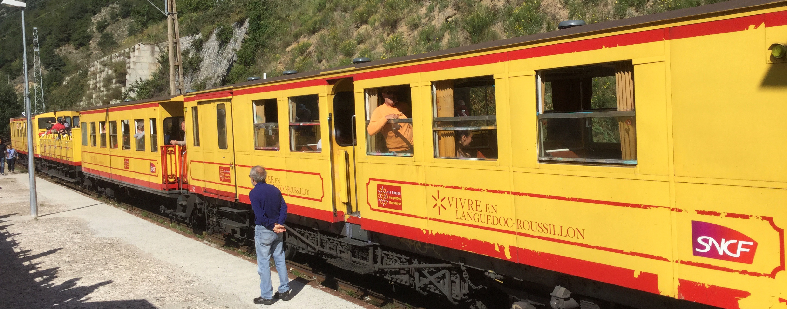 Little Yellow Train of the Pyrenees - The Solo Lady Traveller