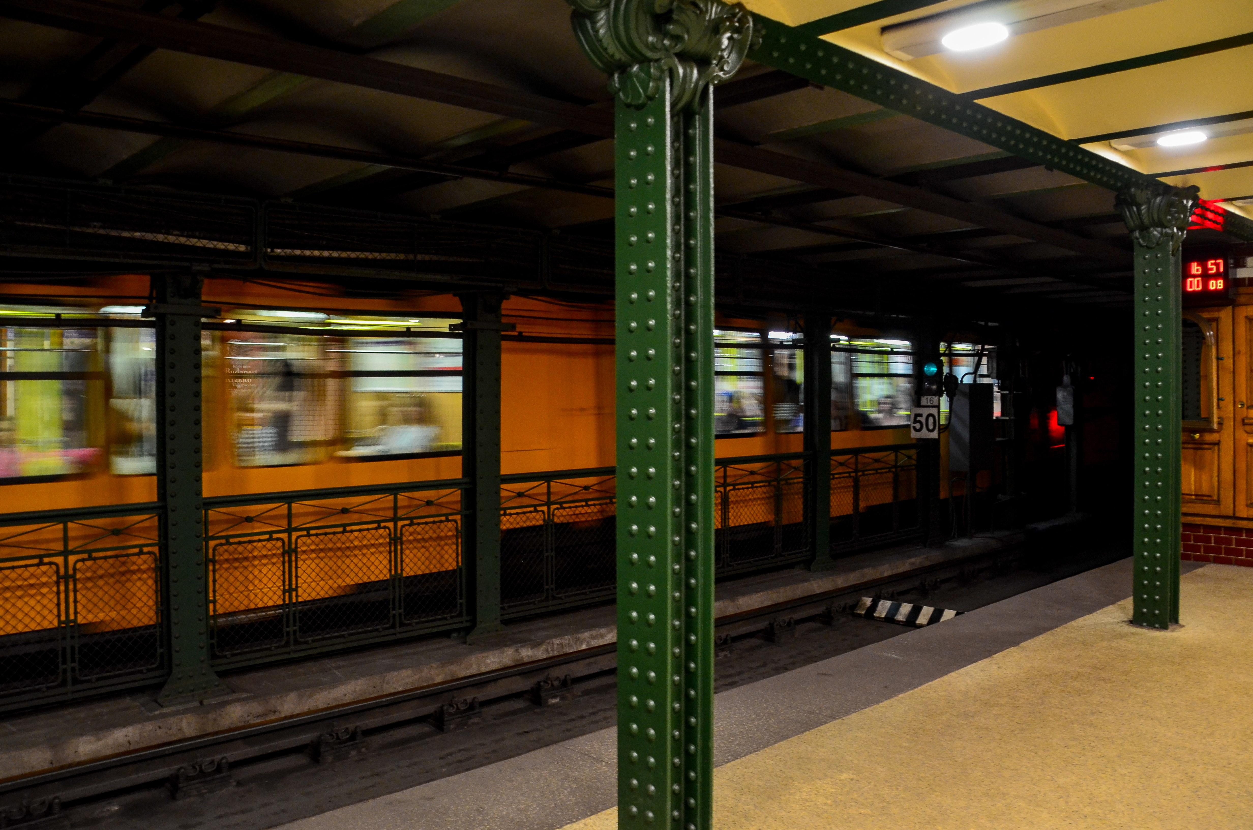 Yellow Train Photo, Architecture, Railway, Train station, Train, HQ Photo