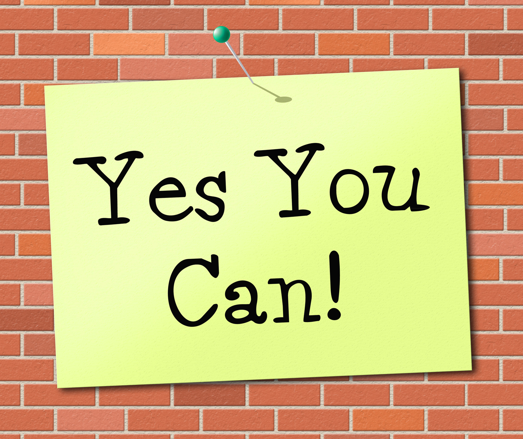 Yes you can means all right and agree photo
