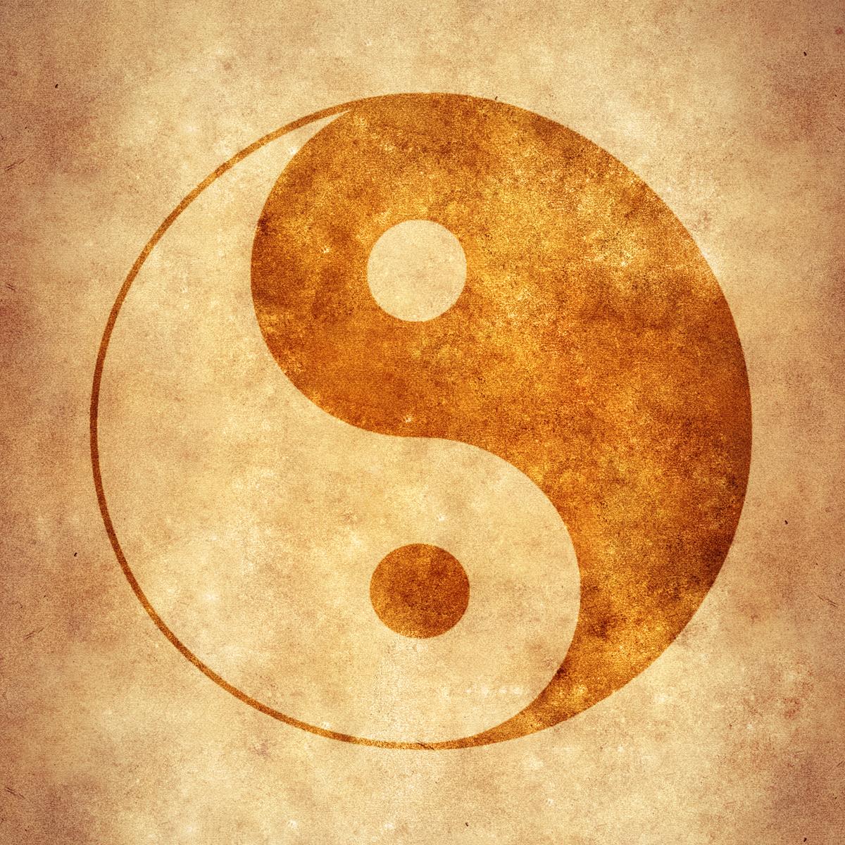 Yin yang photo