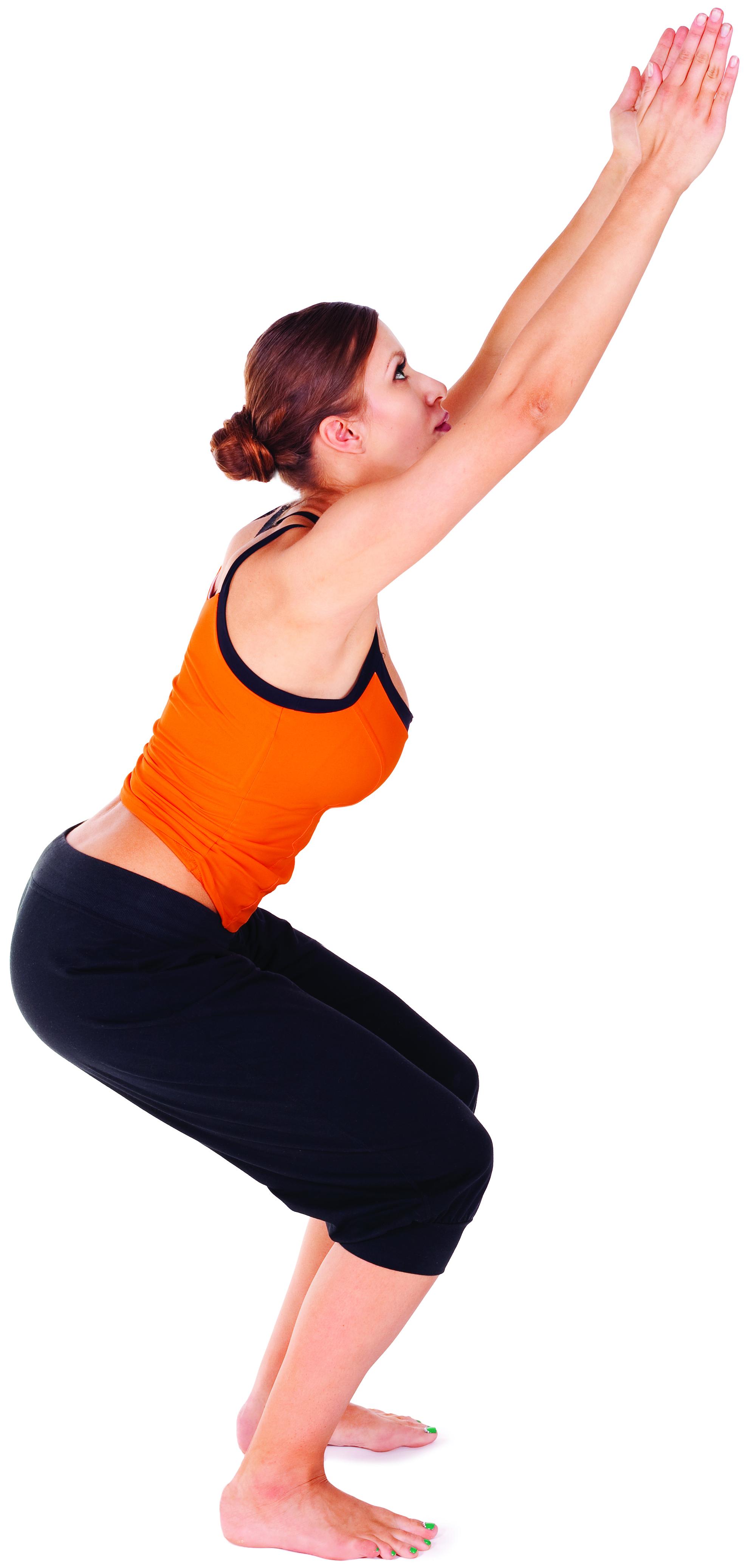 CHAIR POSE - Yoga Magazine