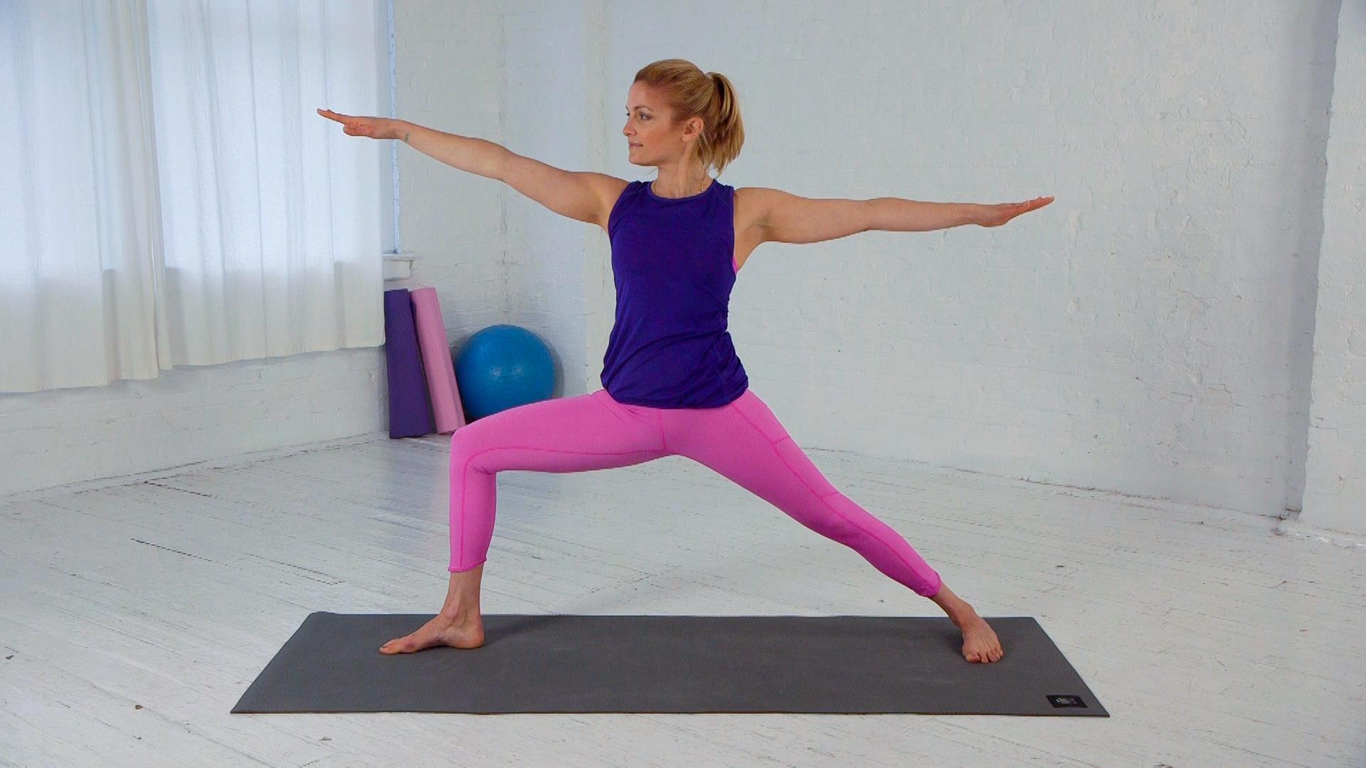 How to Do Warrior II: The Yoga Pose That Can Tone Your Butt