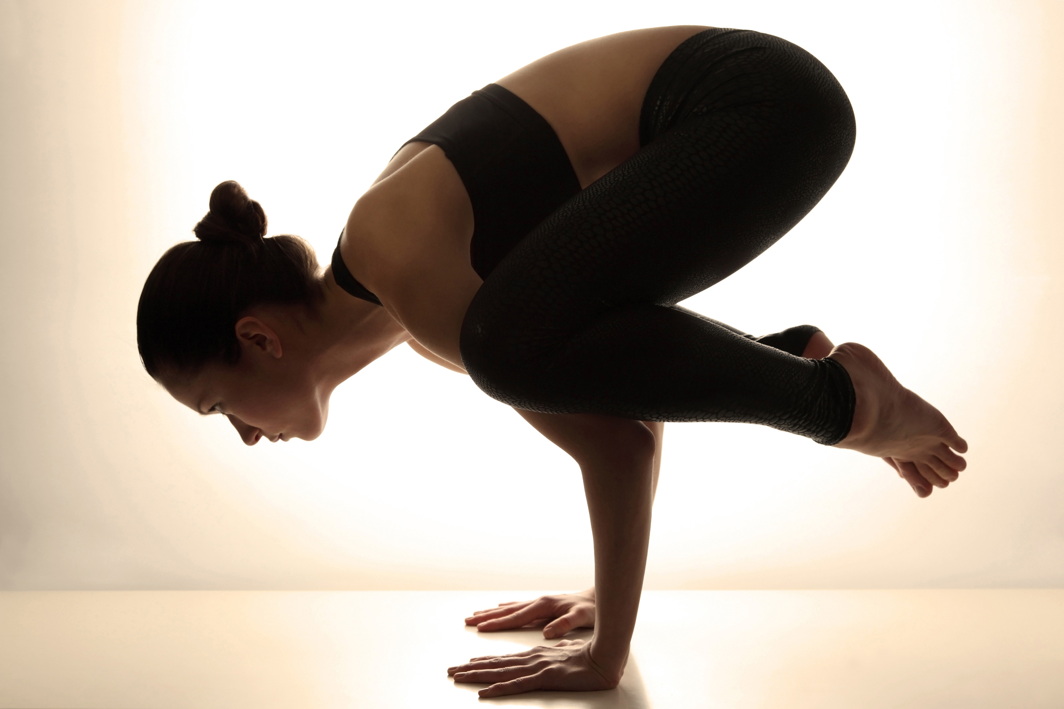 Yoga pose photo