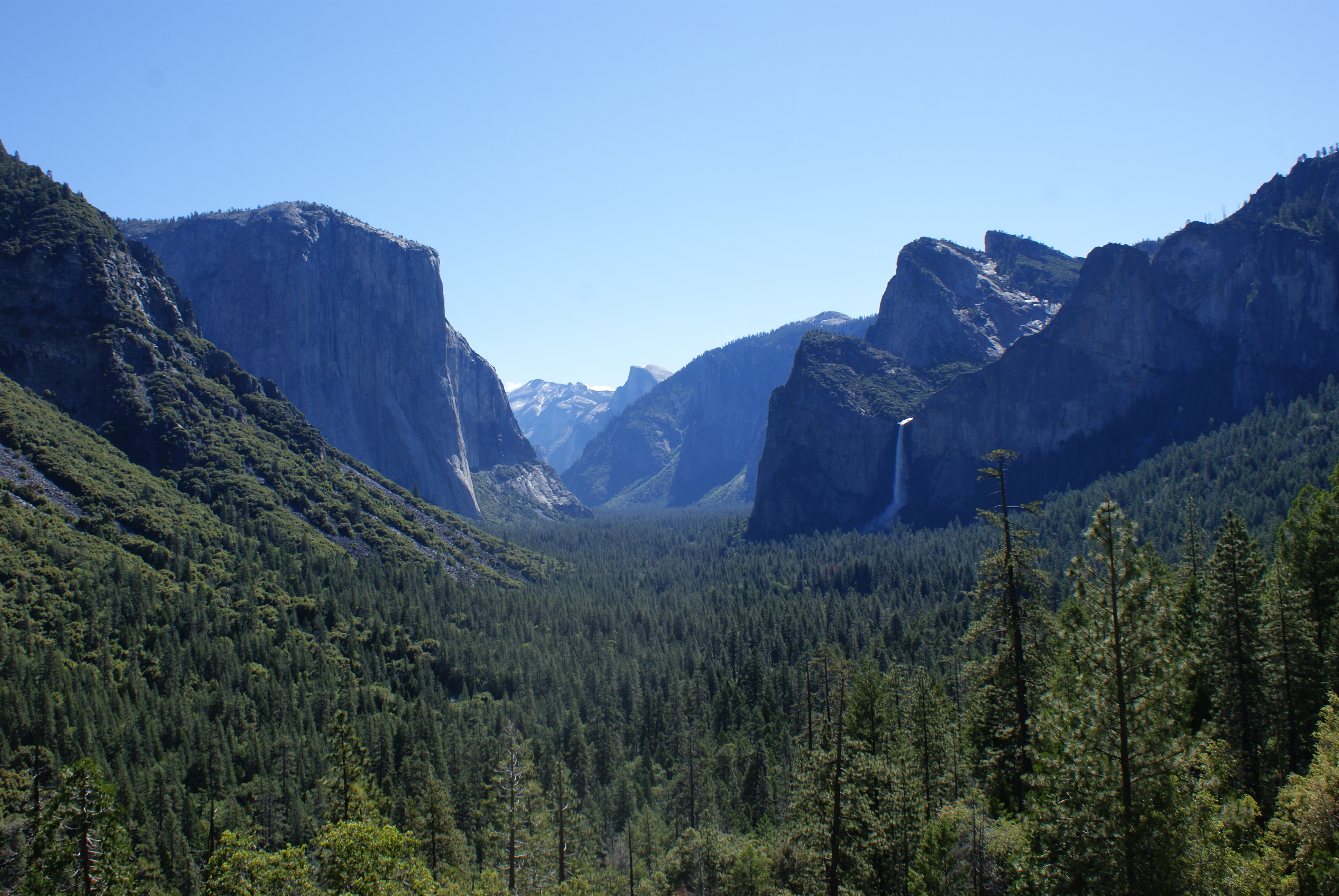 Yosemite National Park, California, California, Mountain ridge, Unitedstates, Summer, HQ Photo