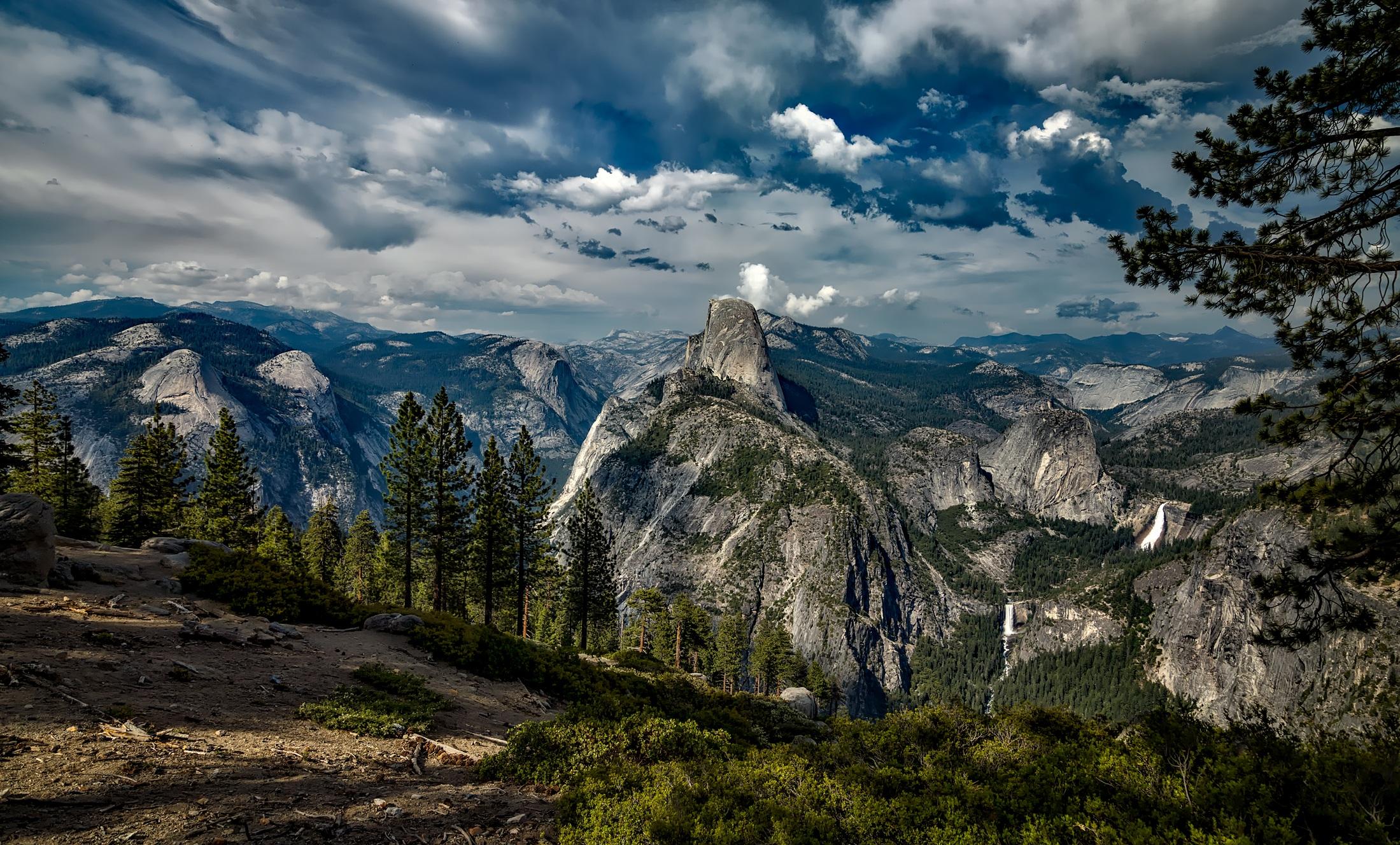 Yosemite, yosemite national park, half dome