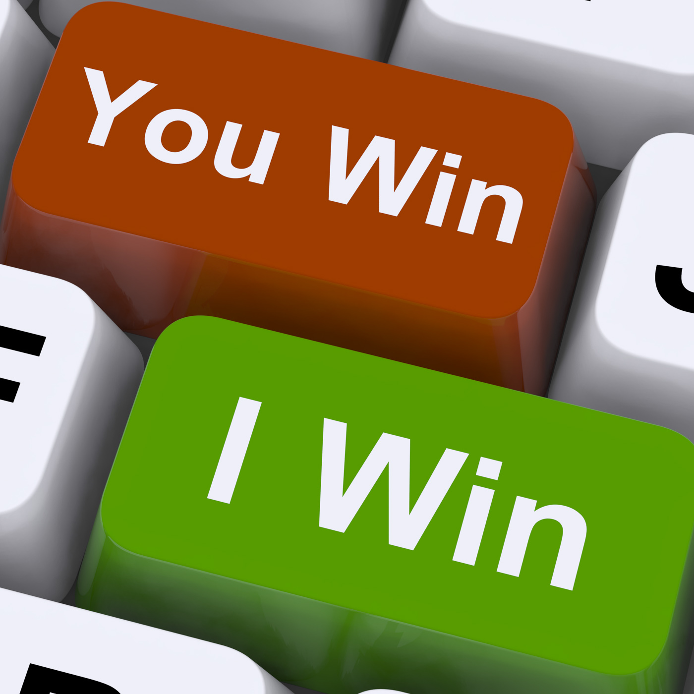 You Or I Win Keys Show Gambling Or Victory, Compromise, Gamble, Gambling, Game, HQ Photo