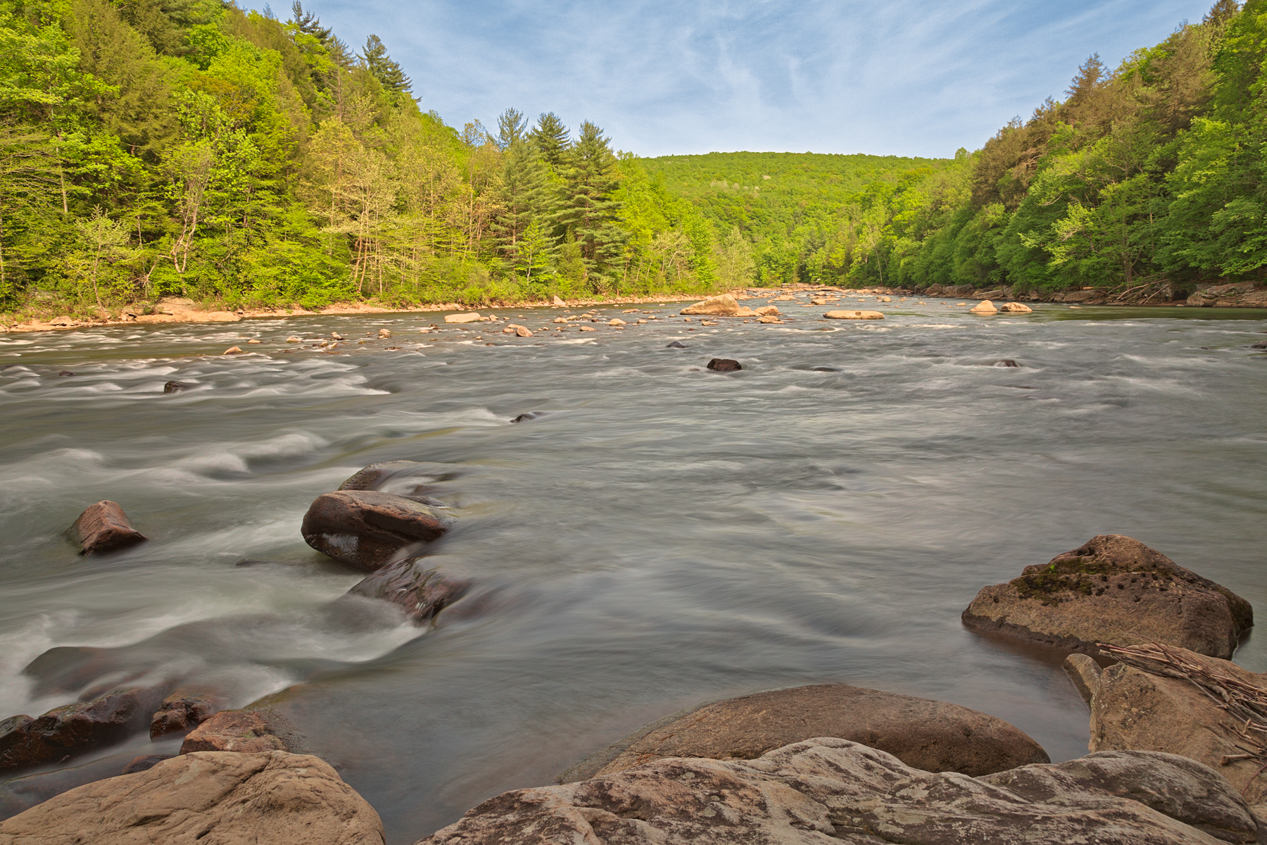 Youghiogheny river - hdr photo