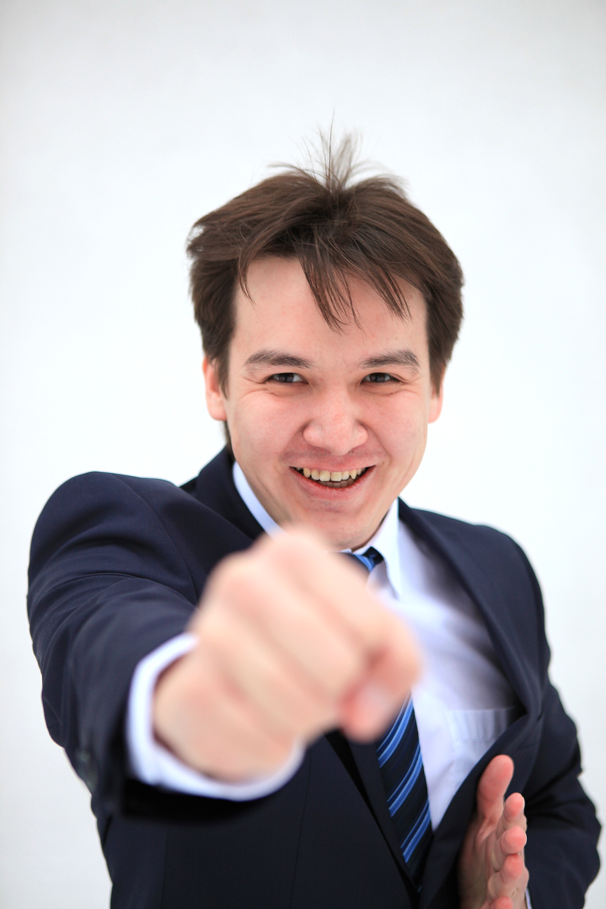 young business man fighting with you, Adult, Professional, One, Outdoor, HQ Photo