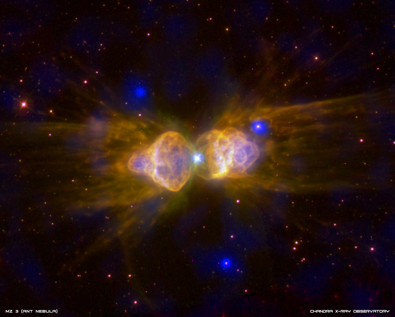 Young dense planetary nebula photo