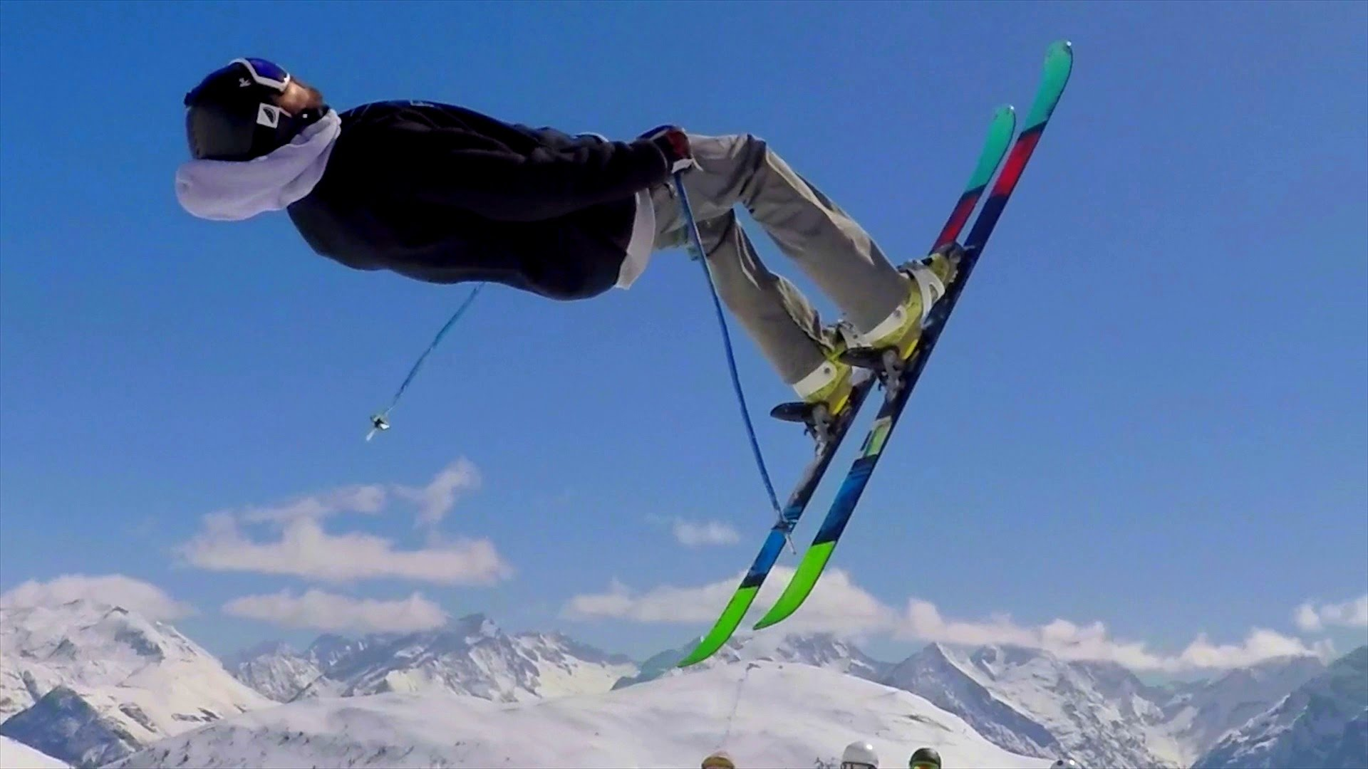 Freestyle: Skiing In The Alps - YouTube