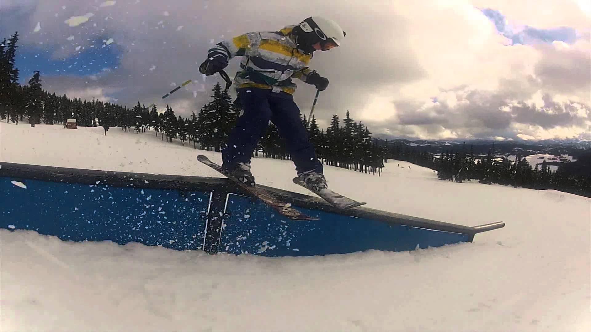 Basic Freestyle Skiing Tricks 2 - YouTube