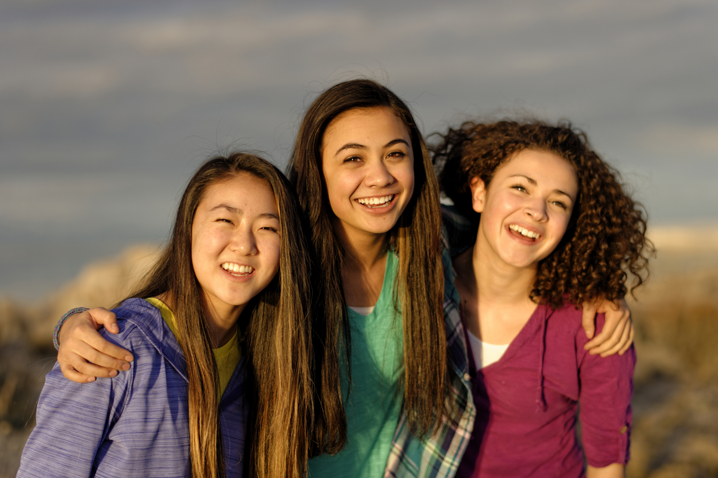 Young Women at Girls' Camp