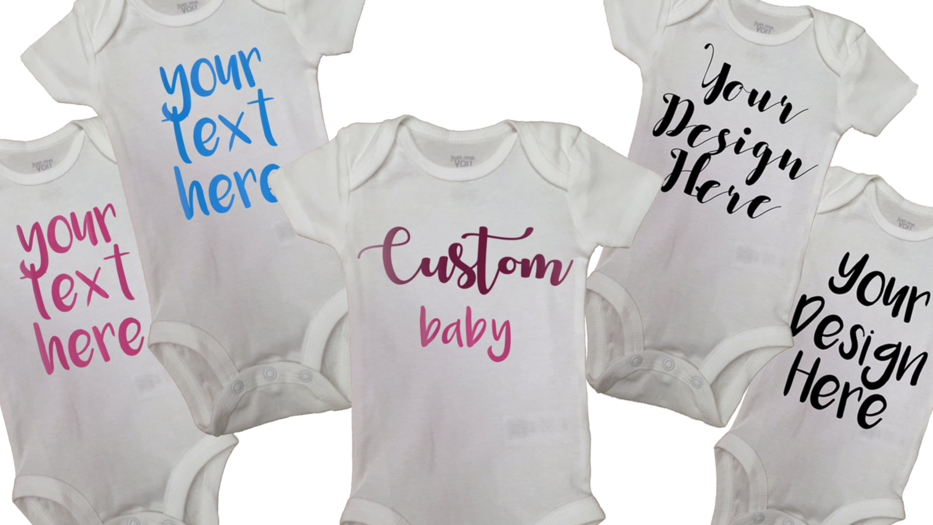 Custom Baby Onesies®, Your Design Here, Personalized Baby Outfit